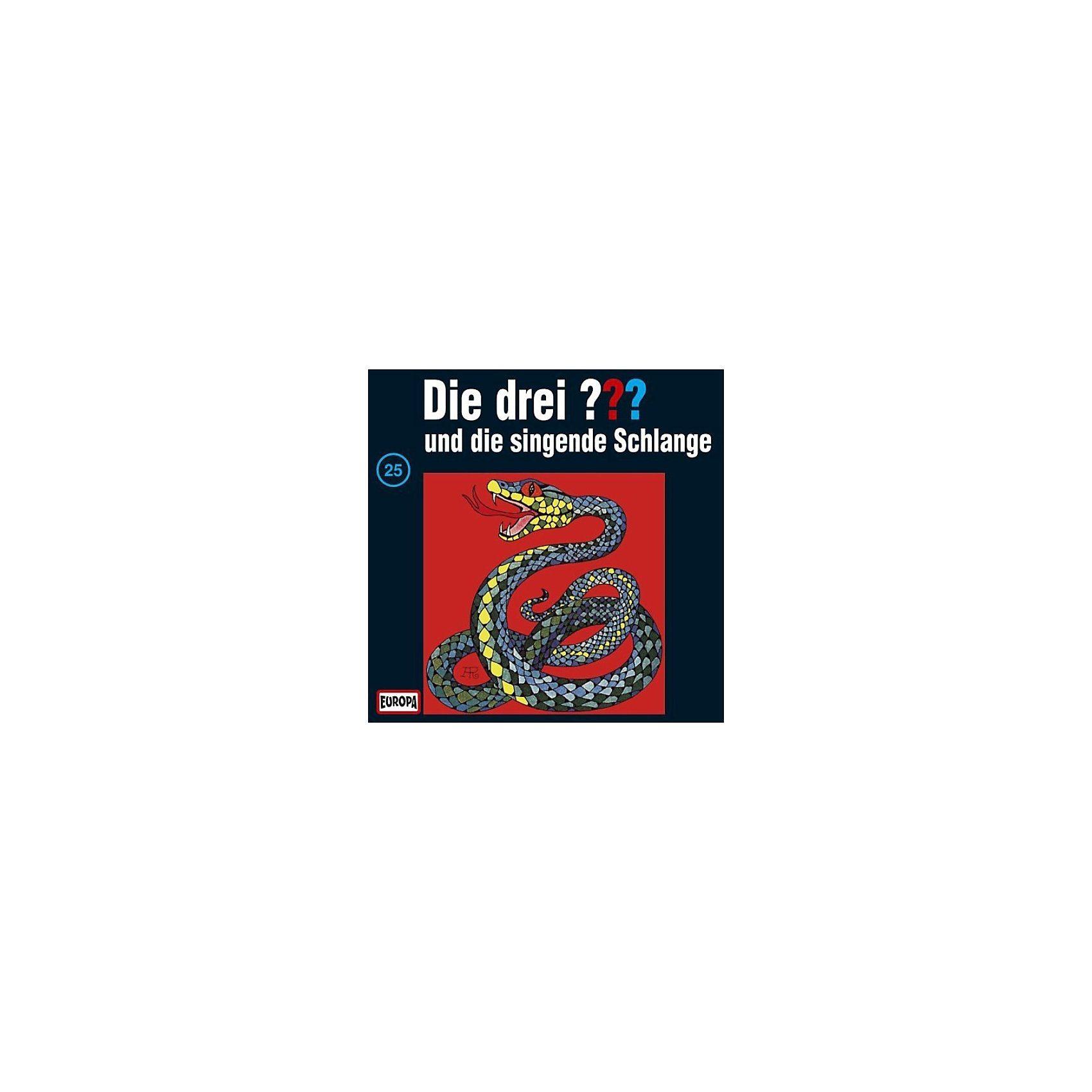 SONY BMG MUSIC CD Die Drei ??? 025/und die singende Schlange