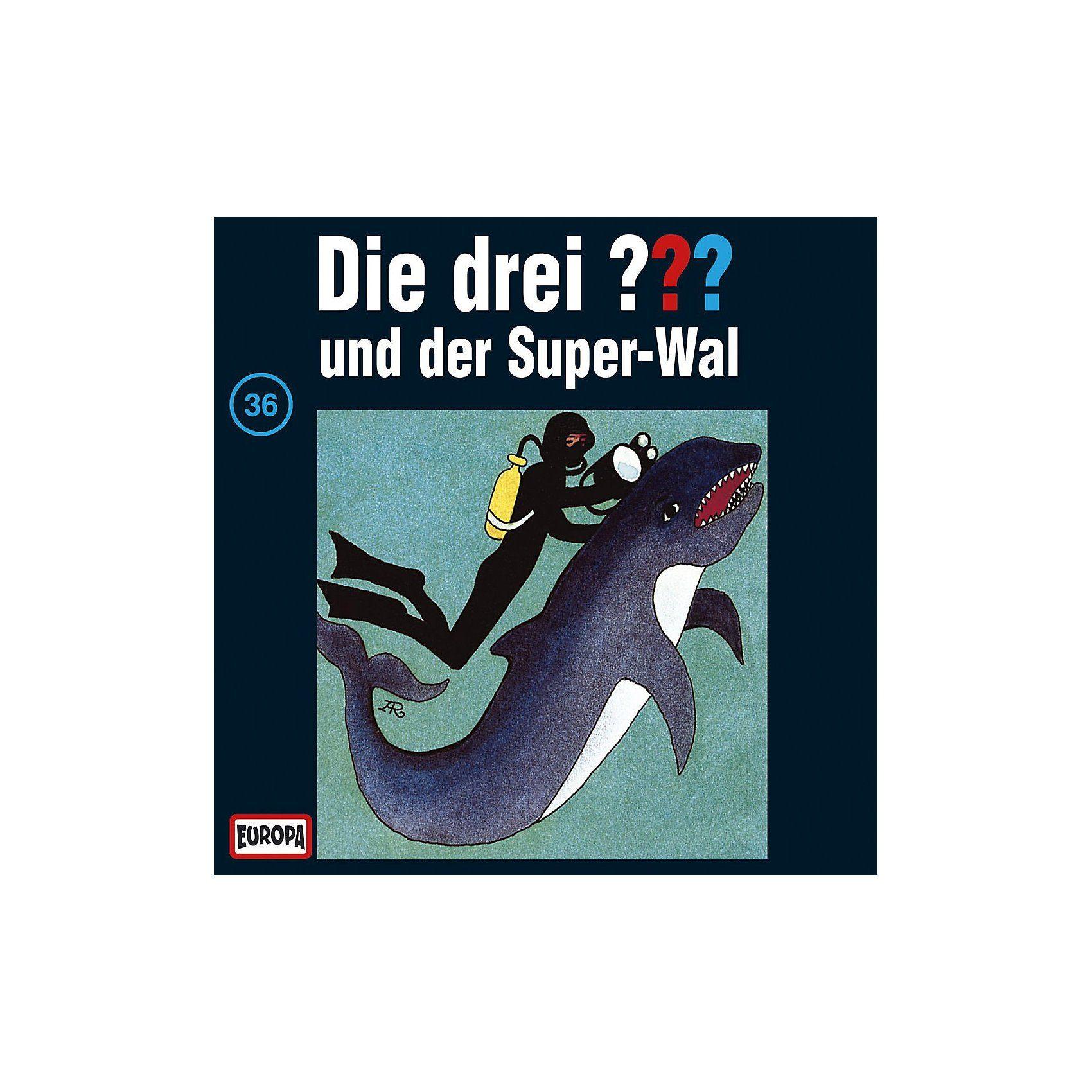 SONY BMG MUSIC CD Die Drei ??? 036/und der Super-Wal