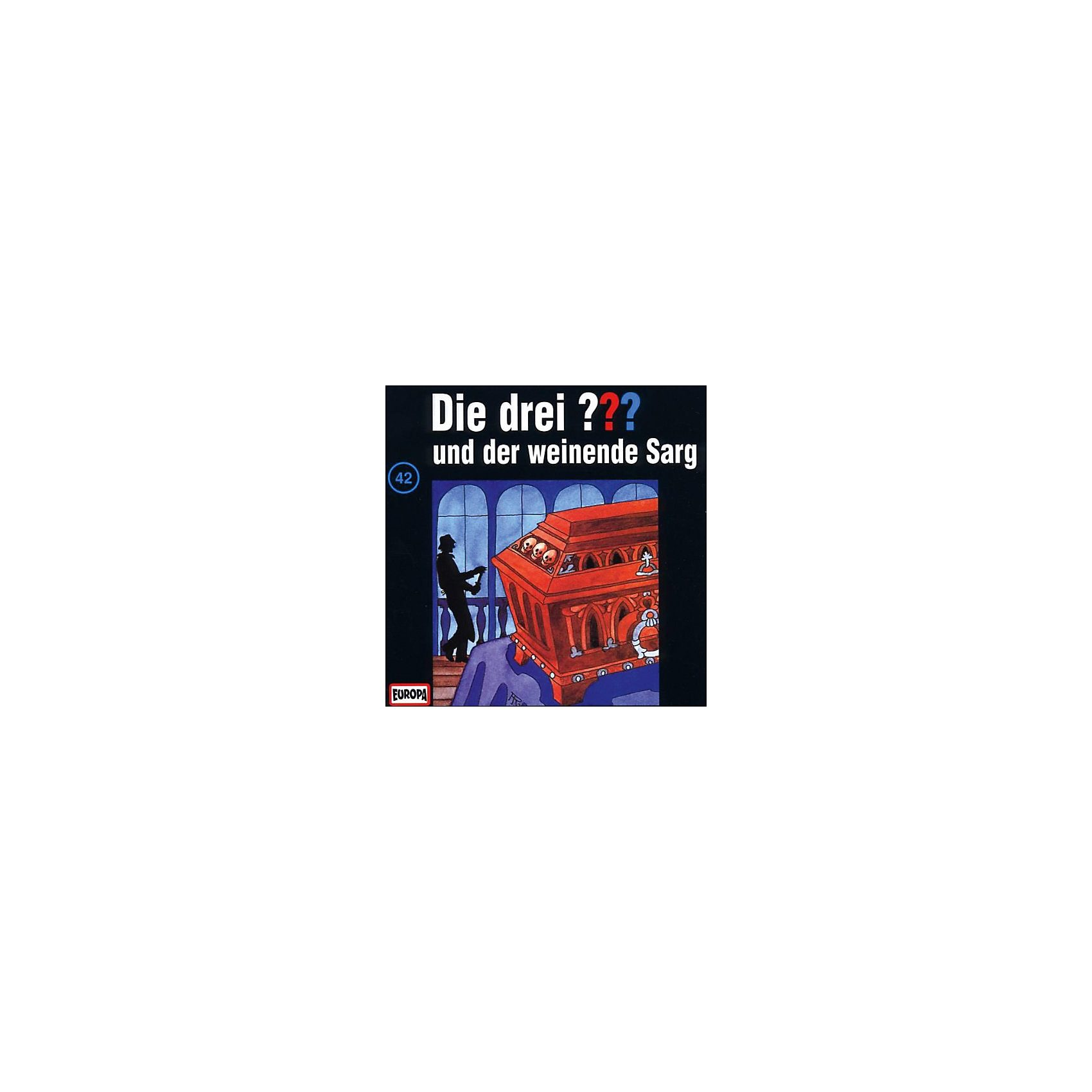 Sony CD Die Drei ??? 042/und der weinende Sarg