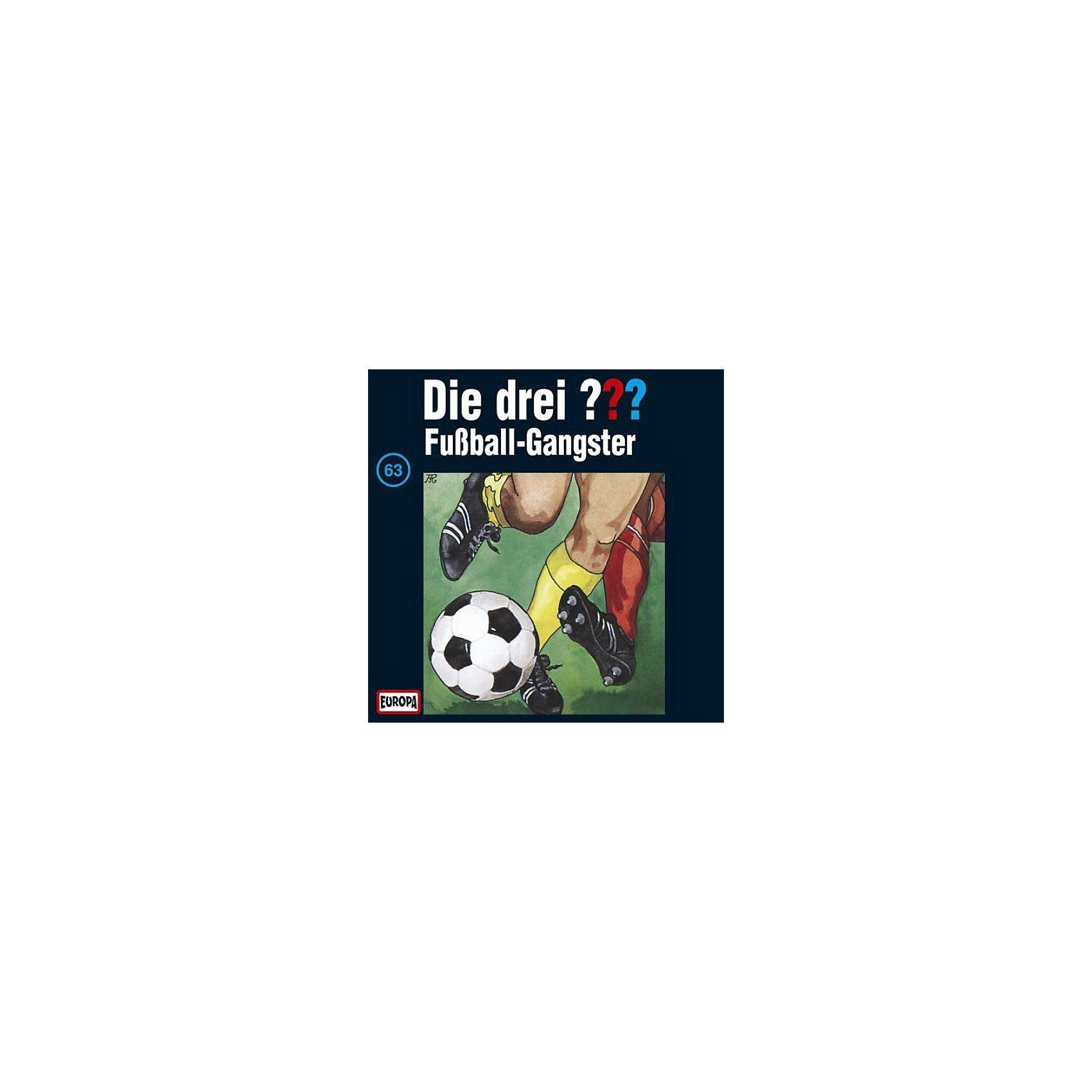 Sony CD Die Drei ??? 063/Fußball-Gangster