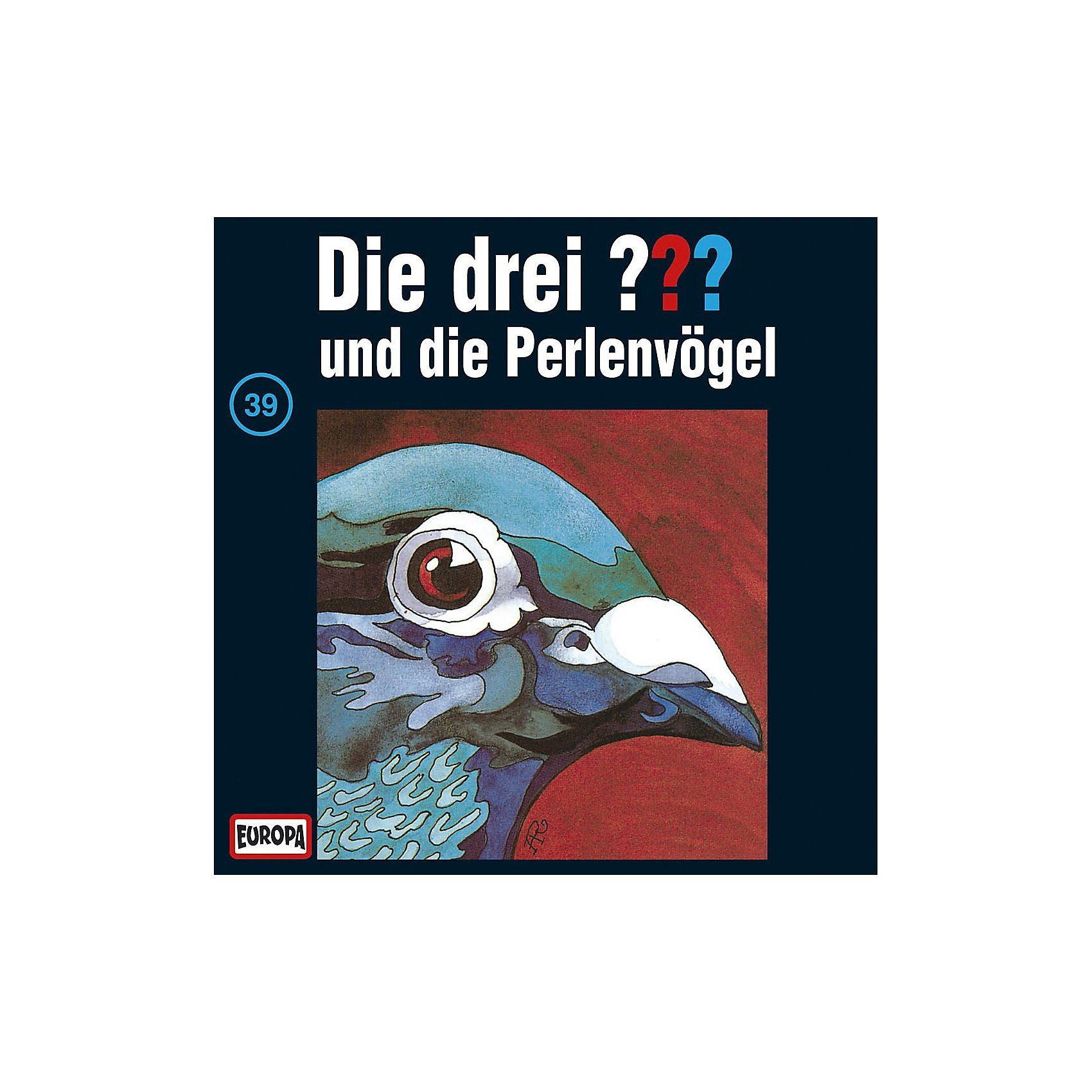 Sony CD Die Drei ??? 039/und die Perlenvögel