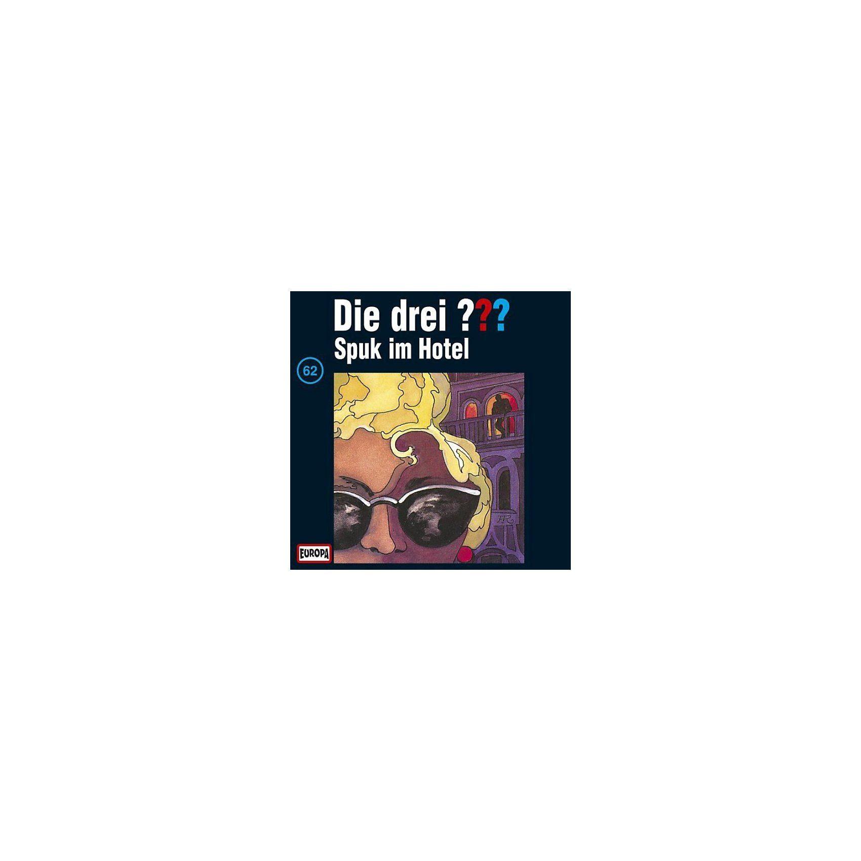 SONY BMG MUSIC CD Die Drei ??? 062/Spuk im Hotel