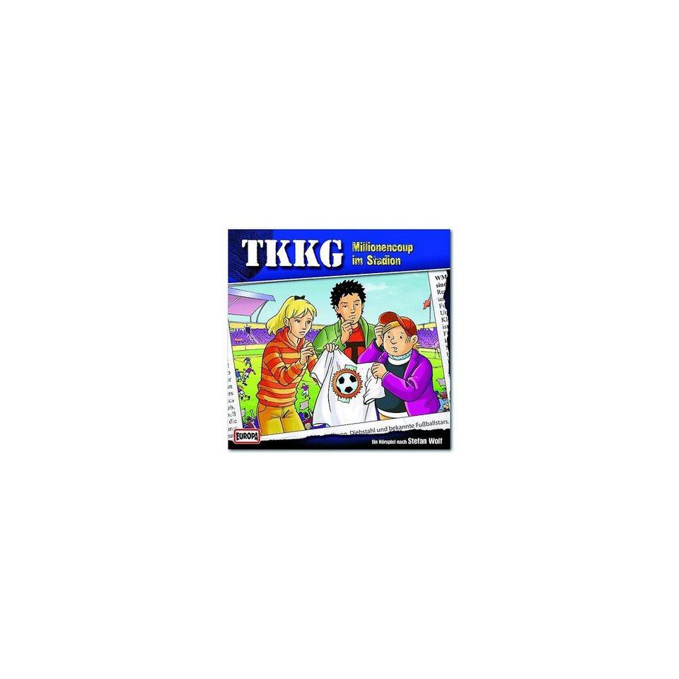 SONY BMG MUSIC CD TKKG 168 - Millionencup im Stadion