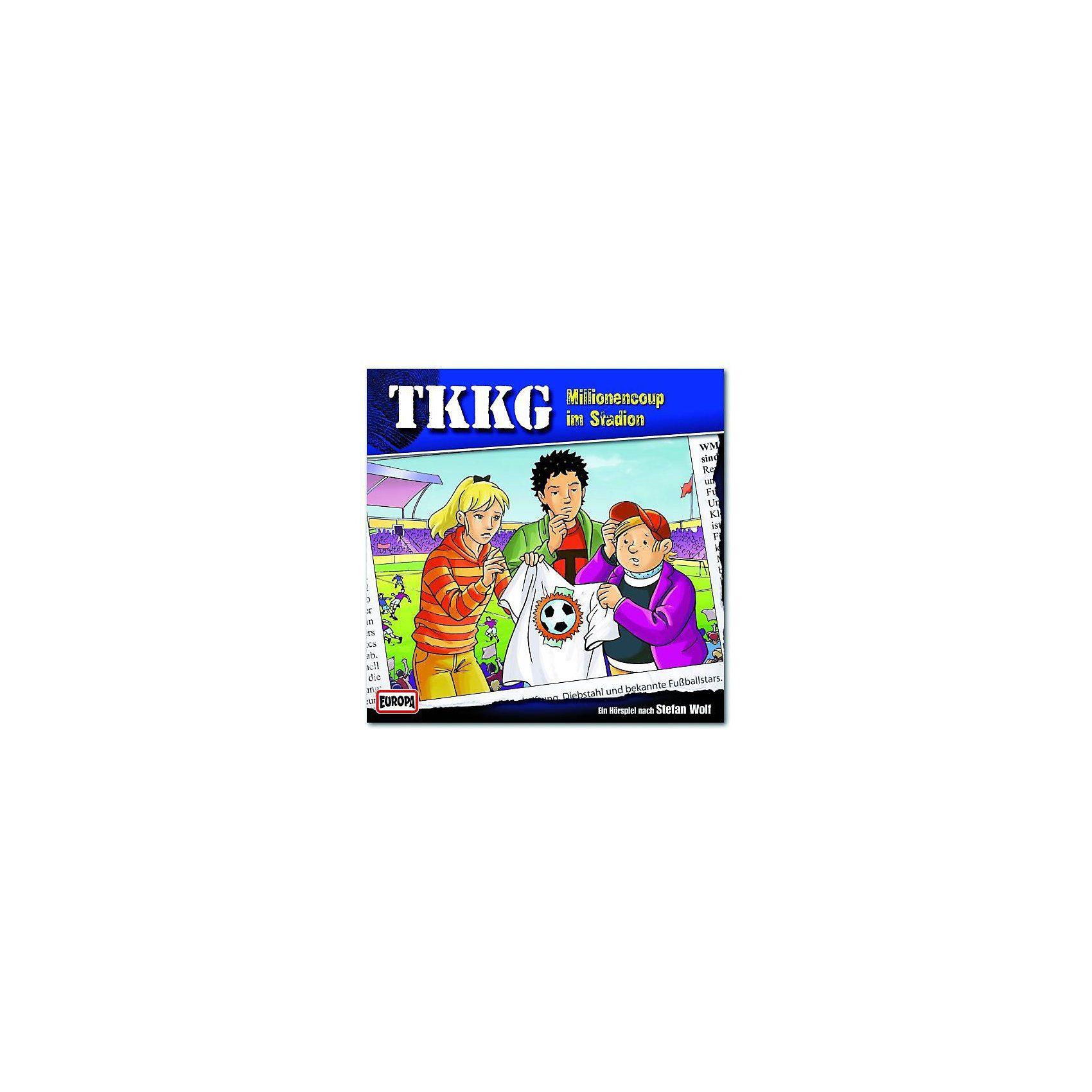 Sony CD TKKG 168 - Millionencup im Stadion