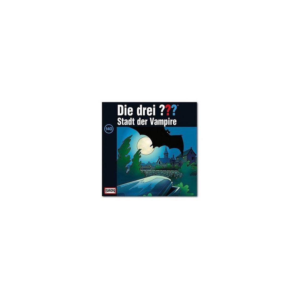 SONY BMG MUSIC CD Die Drei ??? 140 - Stadt der Vampire
