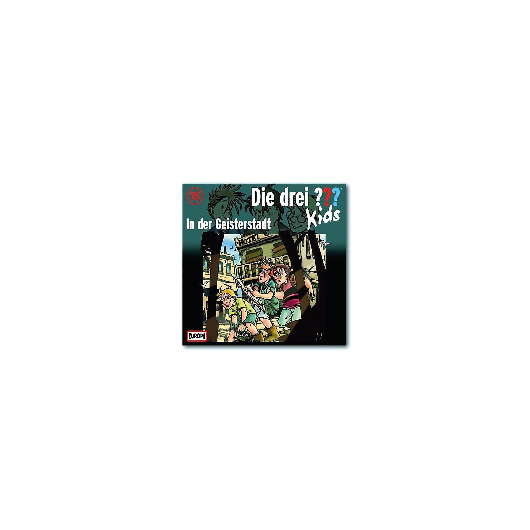 SONY BMG MUSIC CD Die drei ??? Kids 15 - In der Geisterstadt