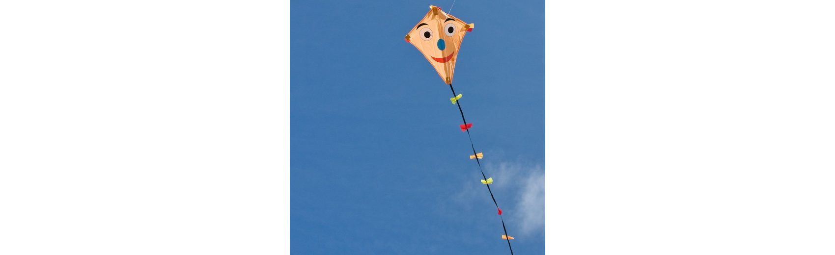 HQ Drachen Line Eddy Happy Face 50cm