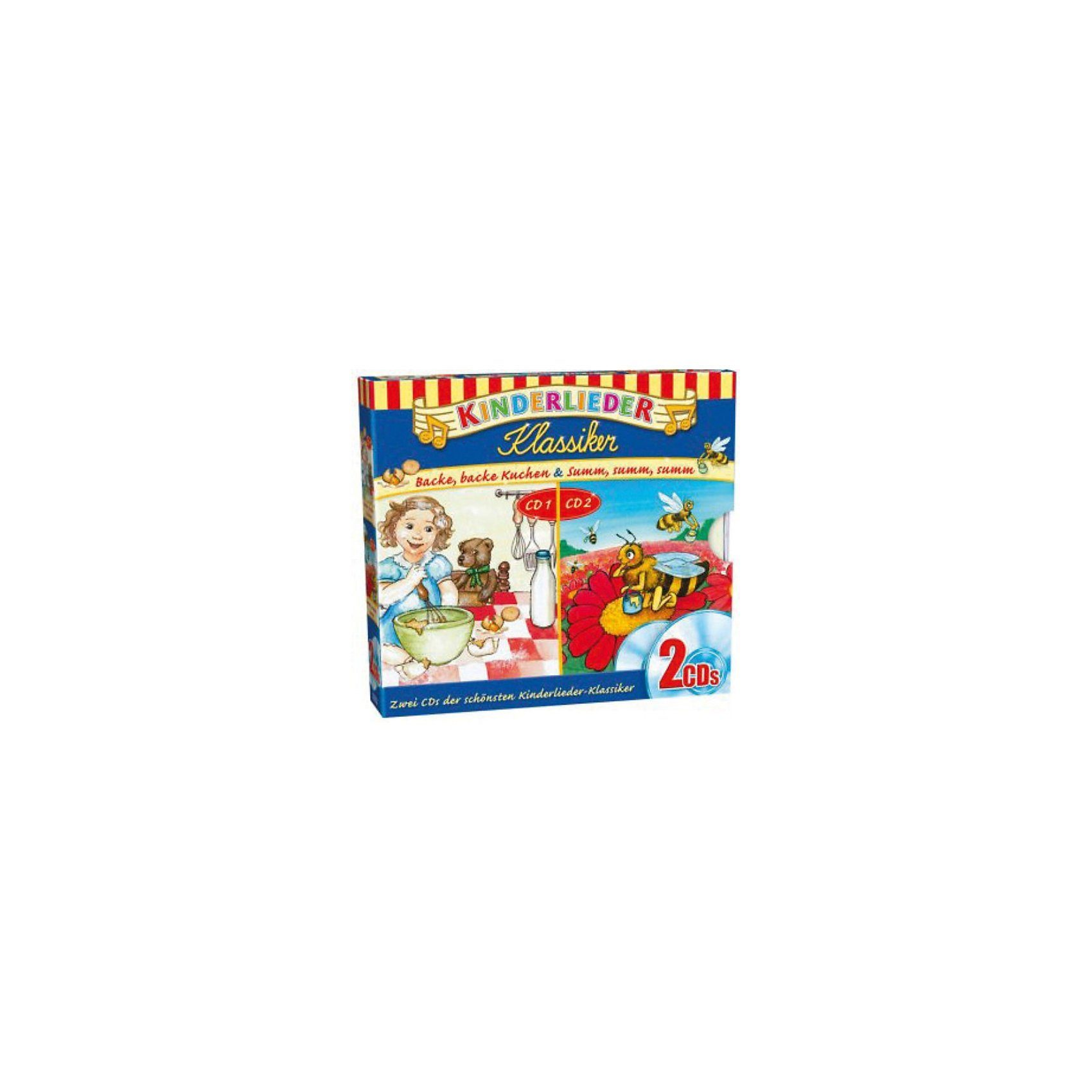 Kiddinx CD Kinderlieder - Klassiker 2er Box 01 Backe, backe Kuchen +