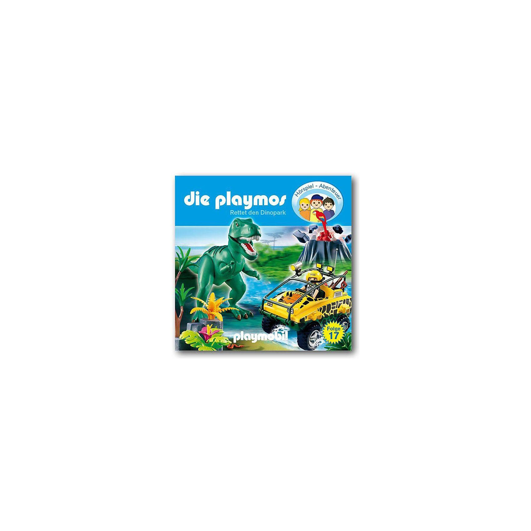 Edel Germany GmbH CD Die Playmos 17 - Rettet den Dinopark