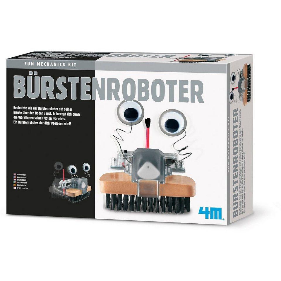 4M Fun Mechanics Bausatz Bürstenroboter kaufen