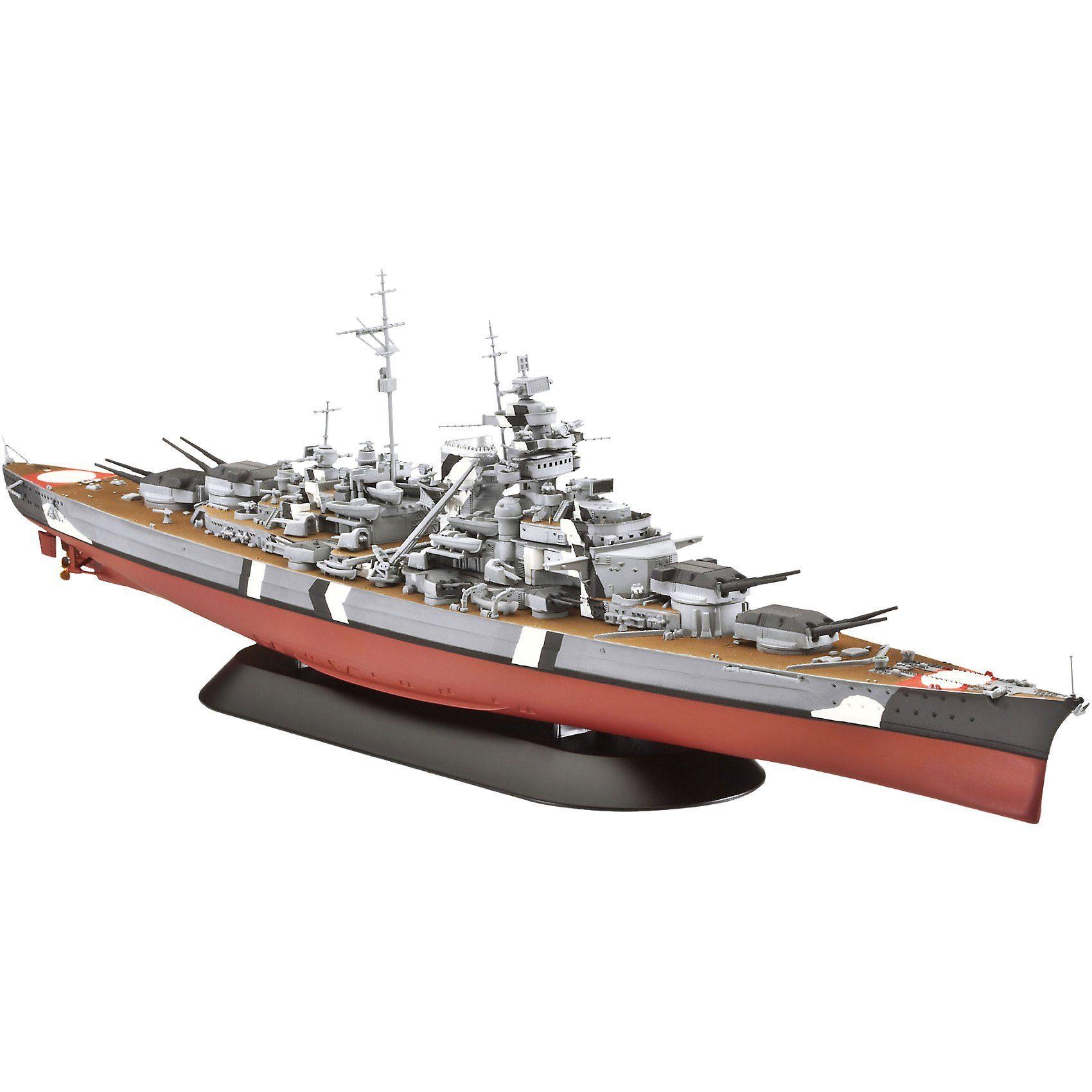 Revell Modellbausatz Battleship Bismarck 1:700