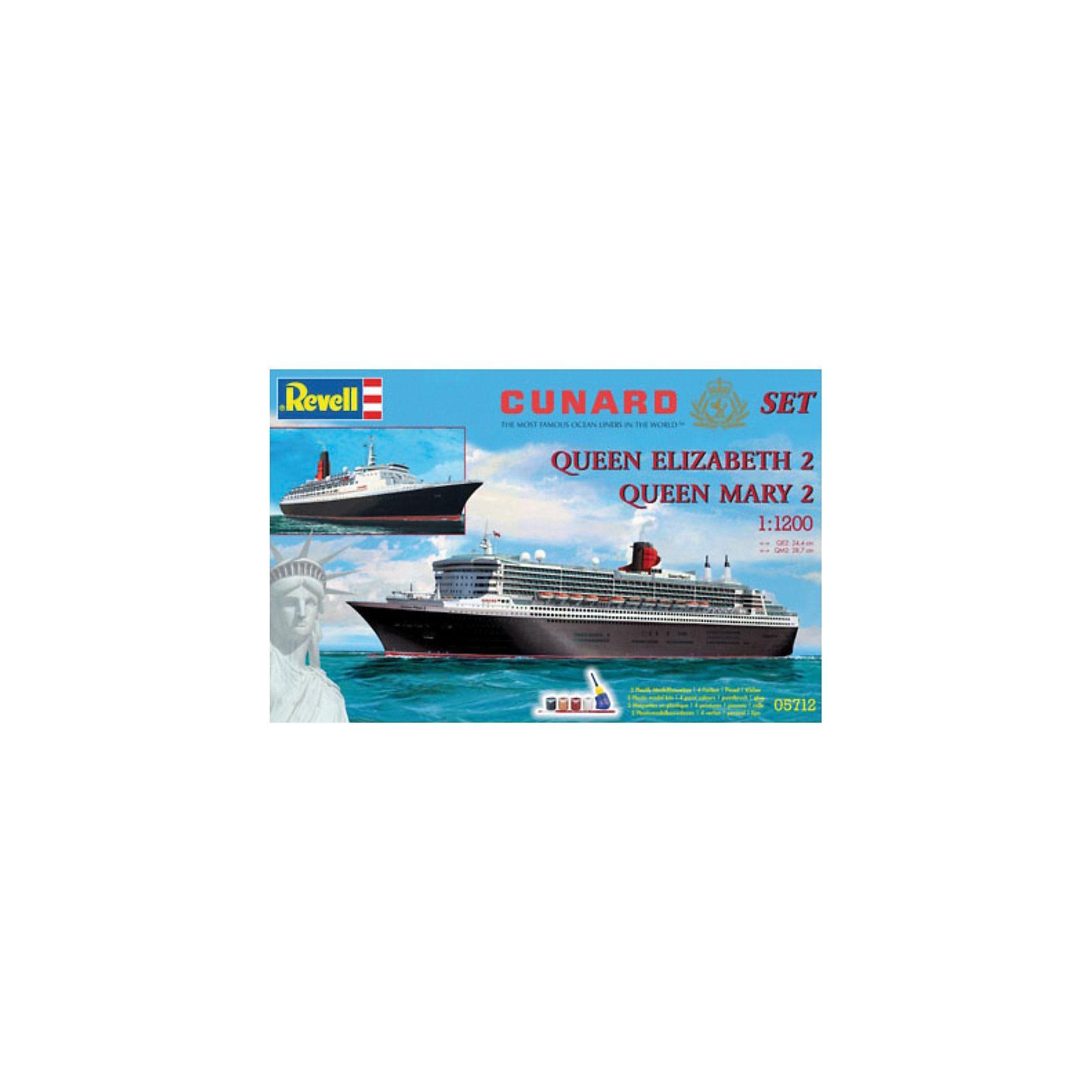 """Revell Geschenkset """"Cunard Line"""""""