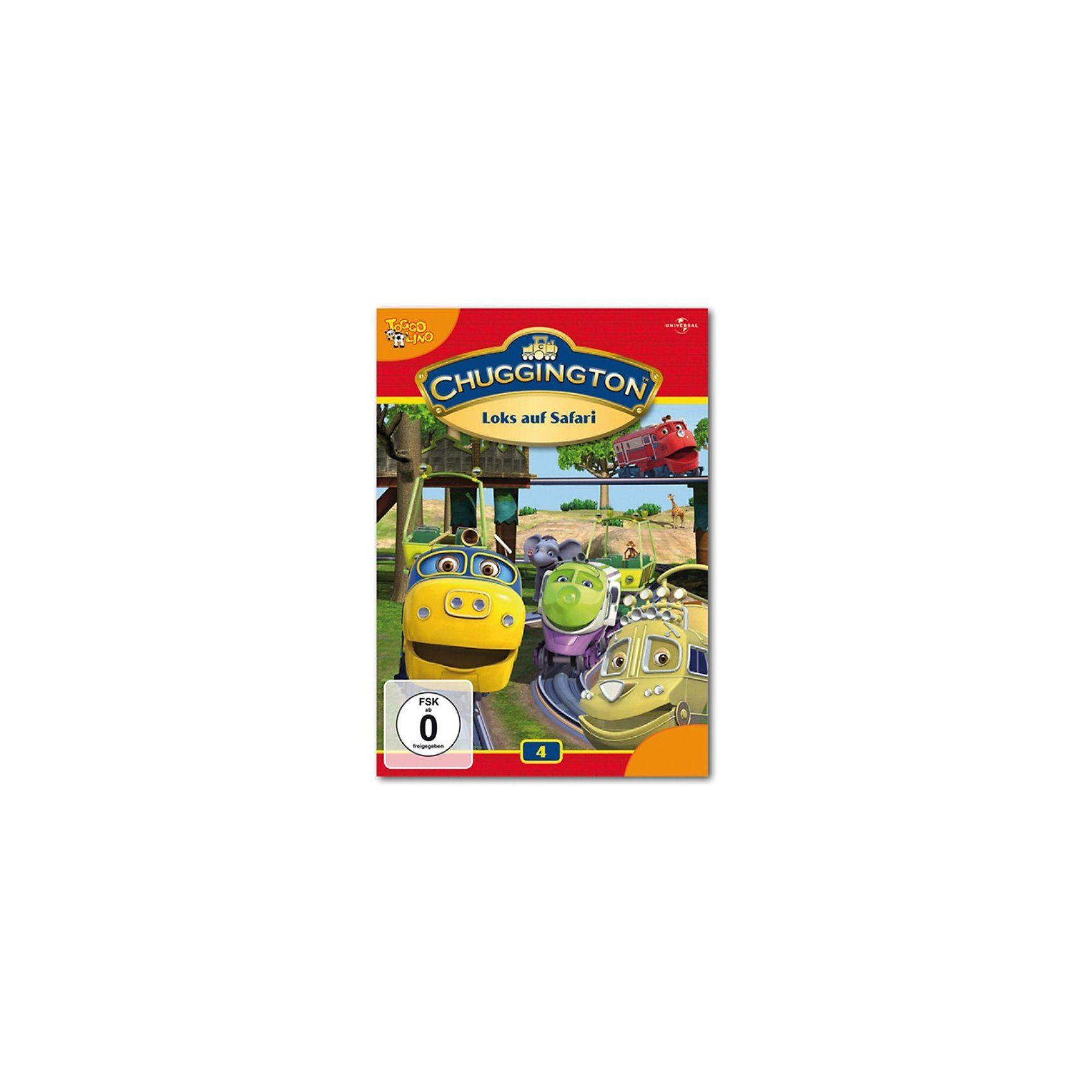 Universal DVD Chuggington 04 - Loks auf Safari