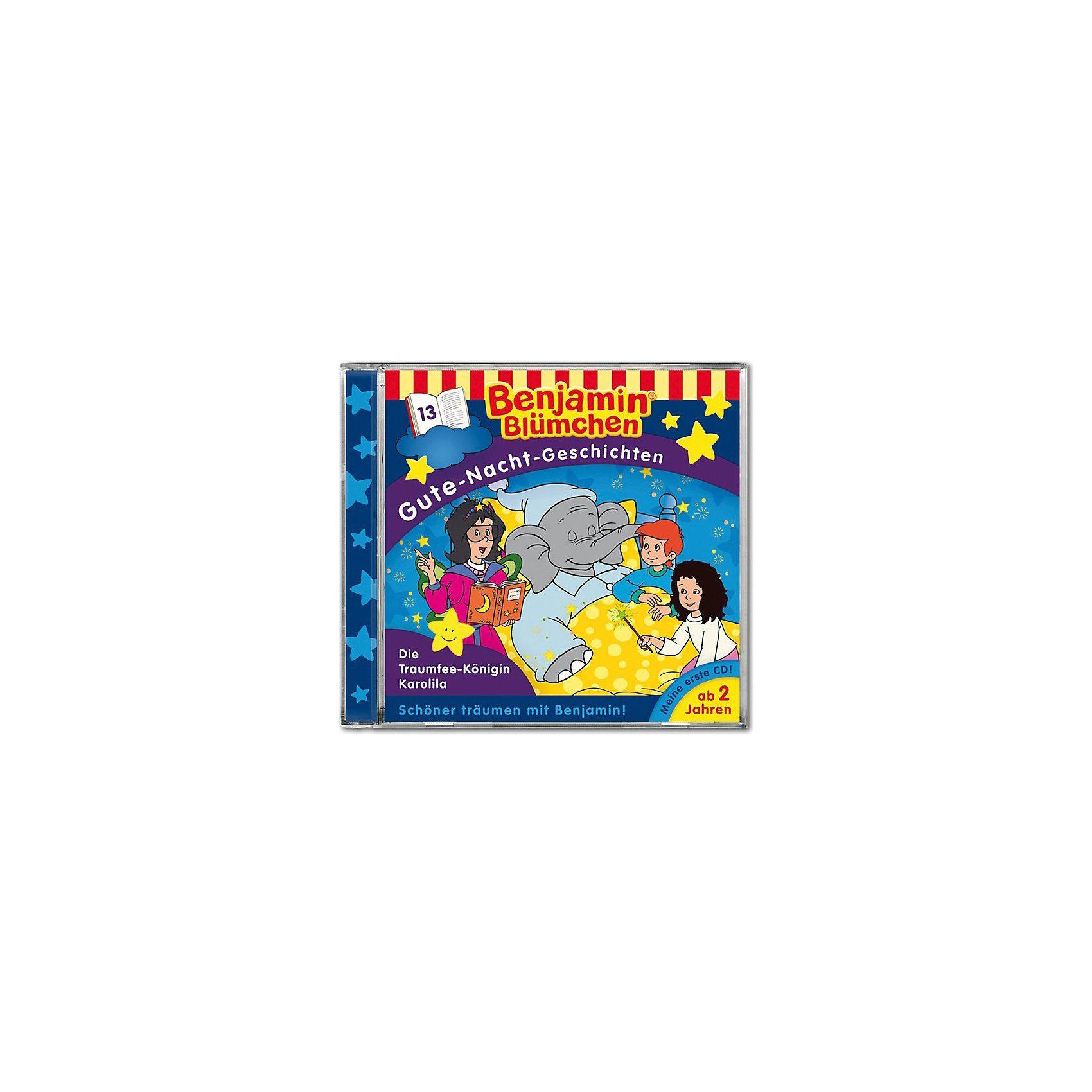 Kiddinx CD Benjamin Blümchen - Gute Nacht 13 Die Traumfee-Königin Ka