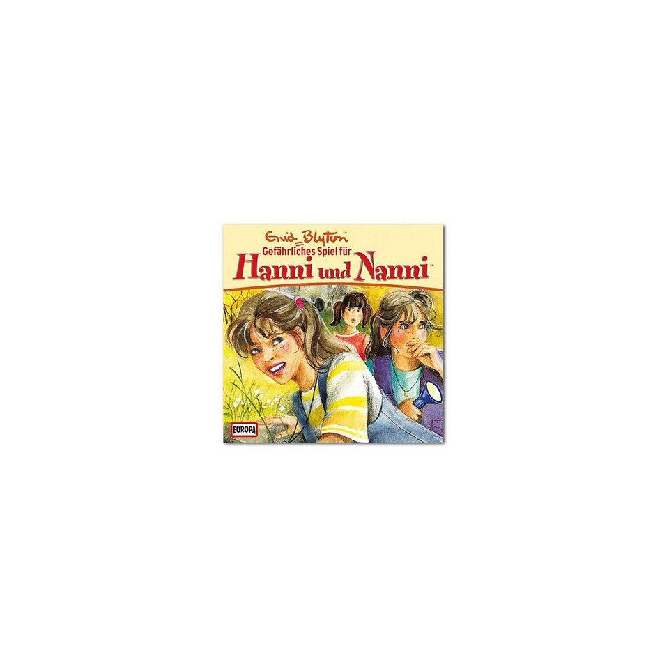 SONY BMG MUSIC CD Hanni & Nanni 19 - Gefährliches Spiel für Hanni und Nanni
