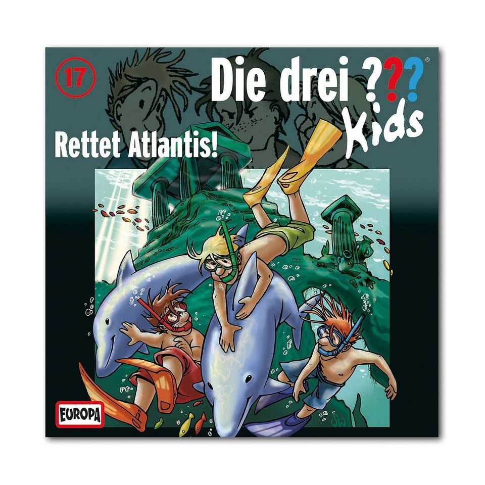 SONY BMG MUSIC CD Die drei ??? Kids 17 - Rettet Atlantis