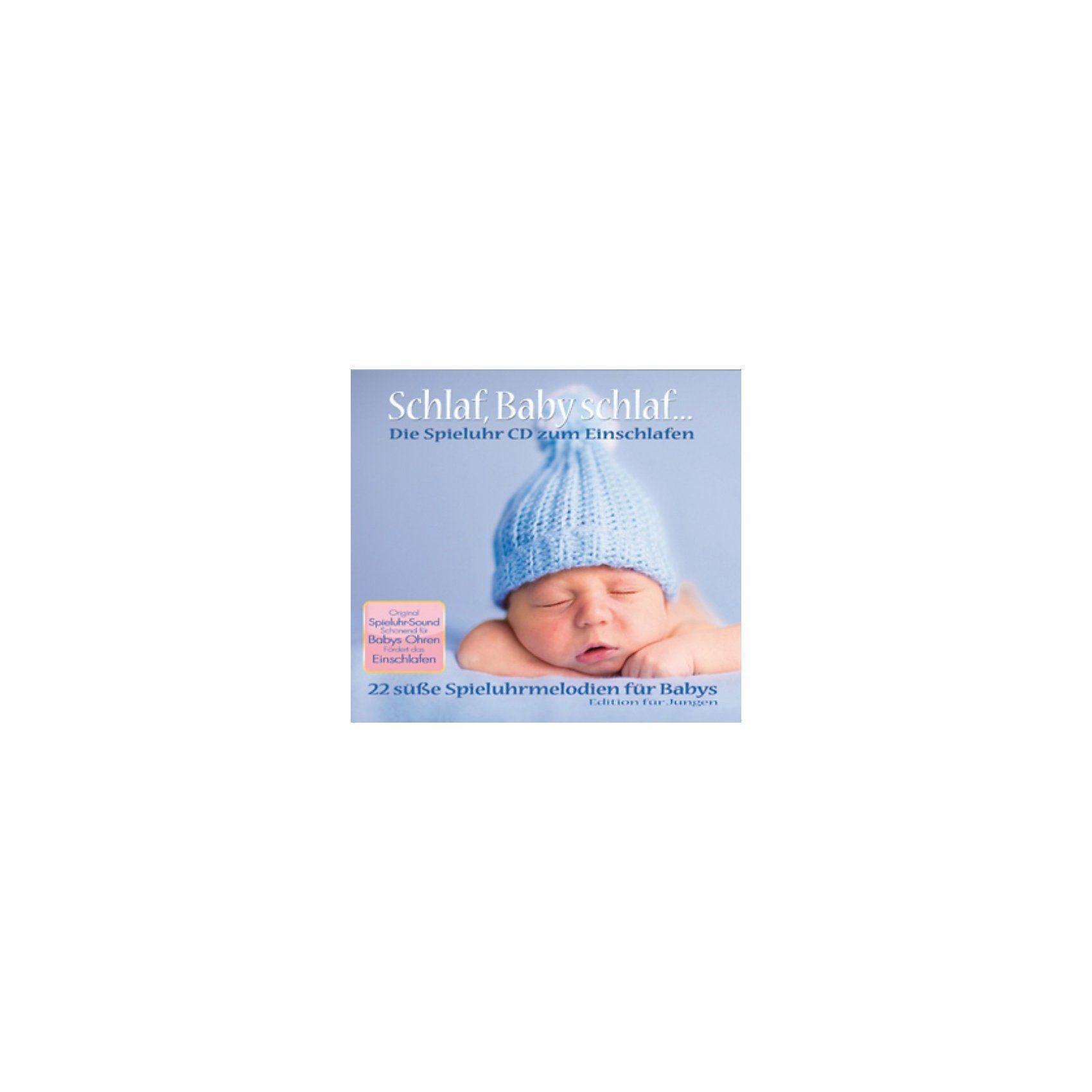CD Schlaf, Baby schlaf - Spieluhrenmelodien für Jungen