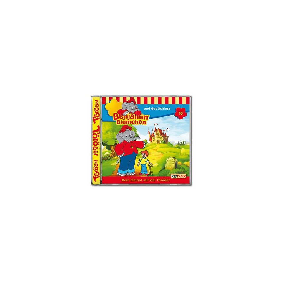 Kiddinx CD Benjamin Blümchen 10 - und das Schloss