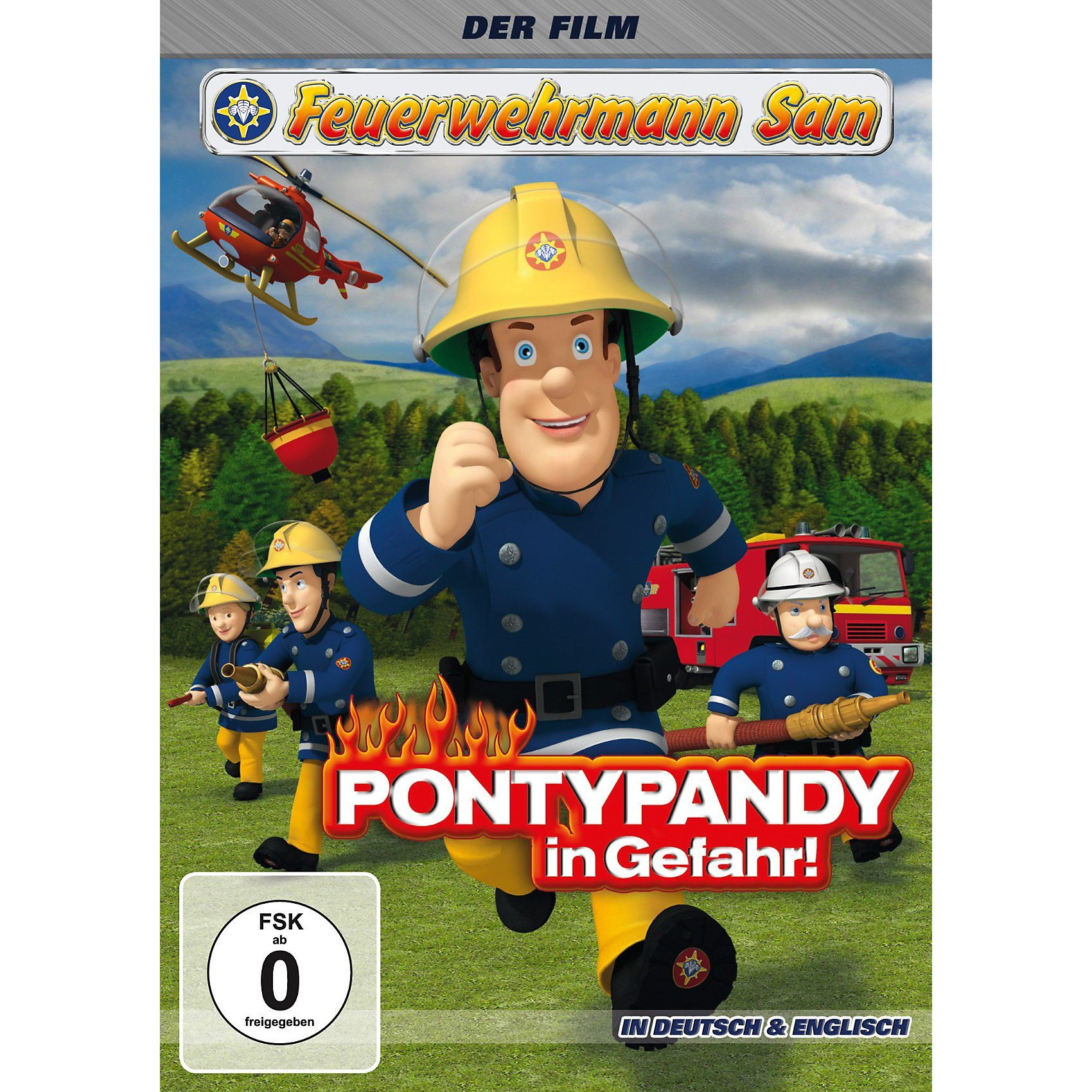 Just Bridge Entertainment DVD Feuerwehrmann Sam - Pontypandy in Gefahr!