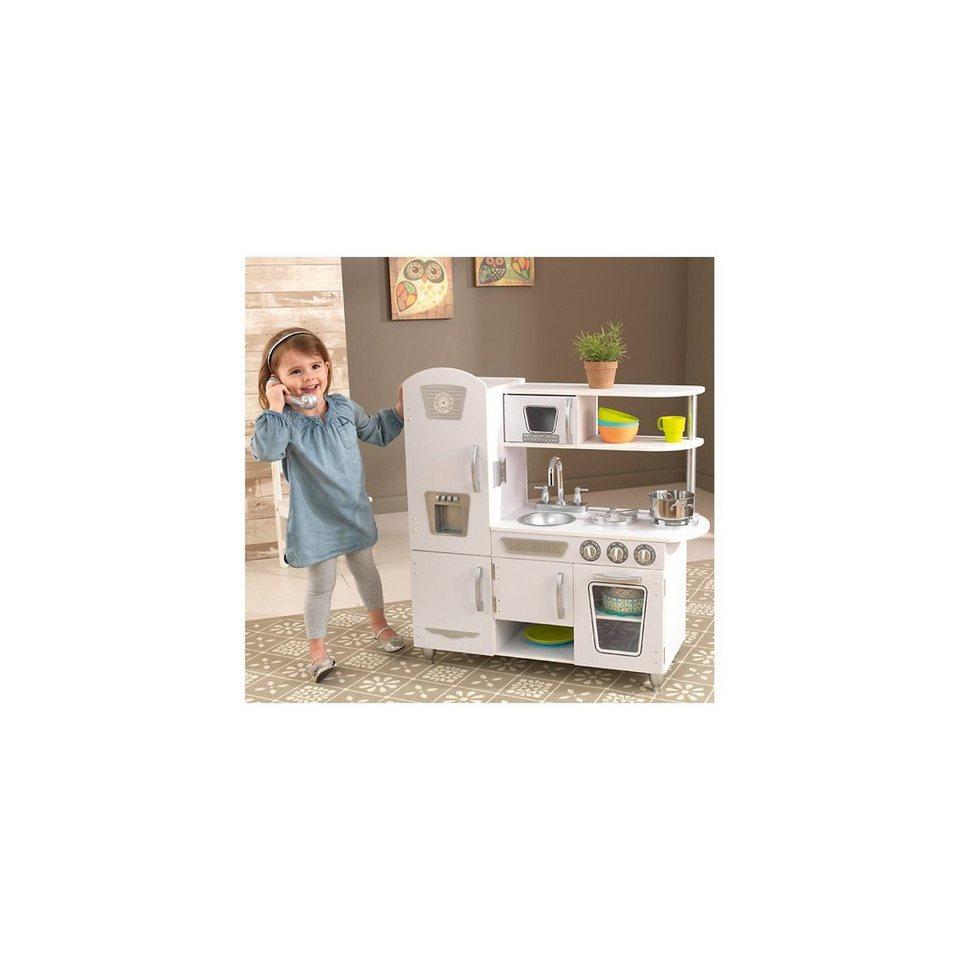 KidKraft® Spielküche Retro, weiss online kaufen | OTTO