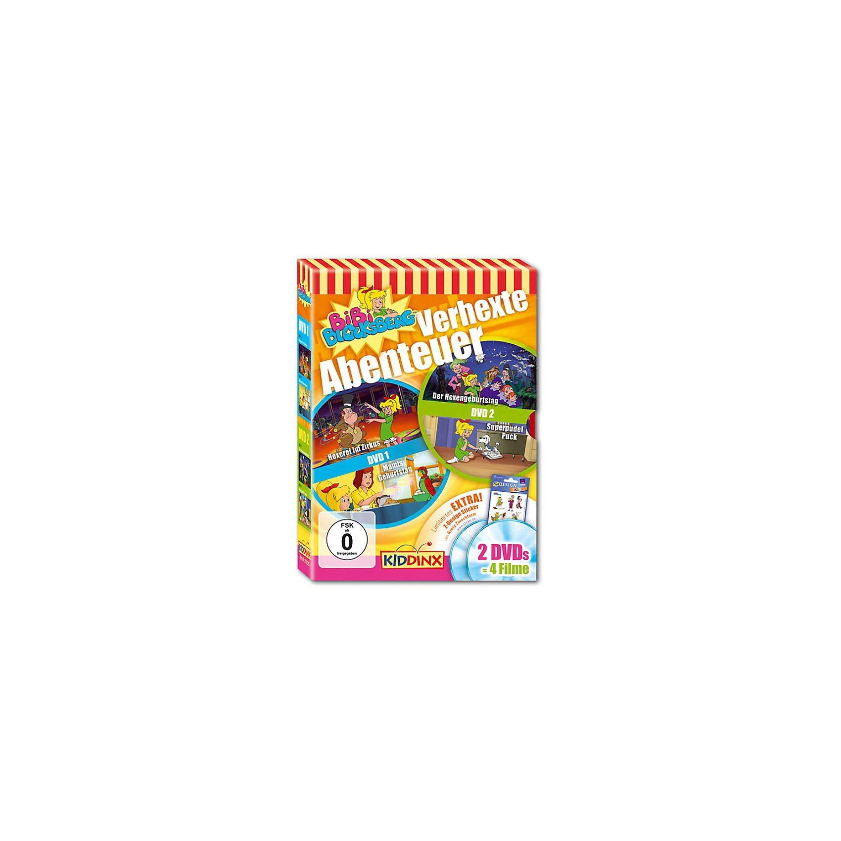 Kiddinx DVD Bibi Blocksberg - Verhexte Abenteuer - 2 DVDs