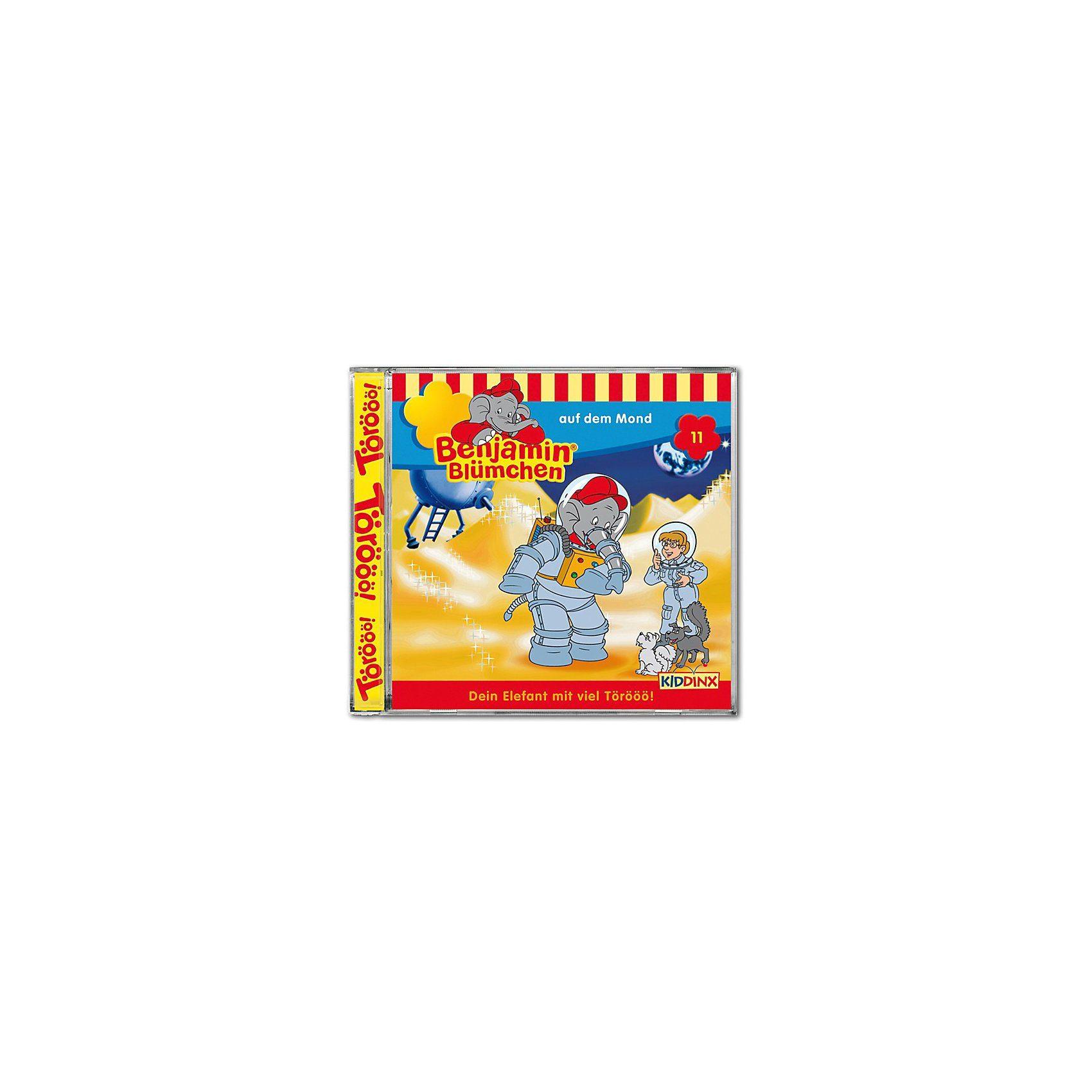 Kiddinx CD Benjamin Blümchen 11 - auf dem Mond