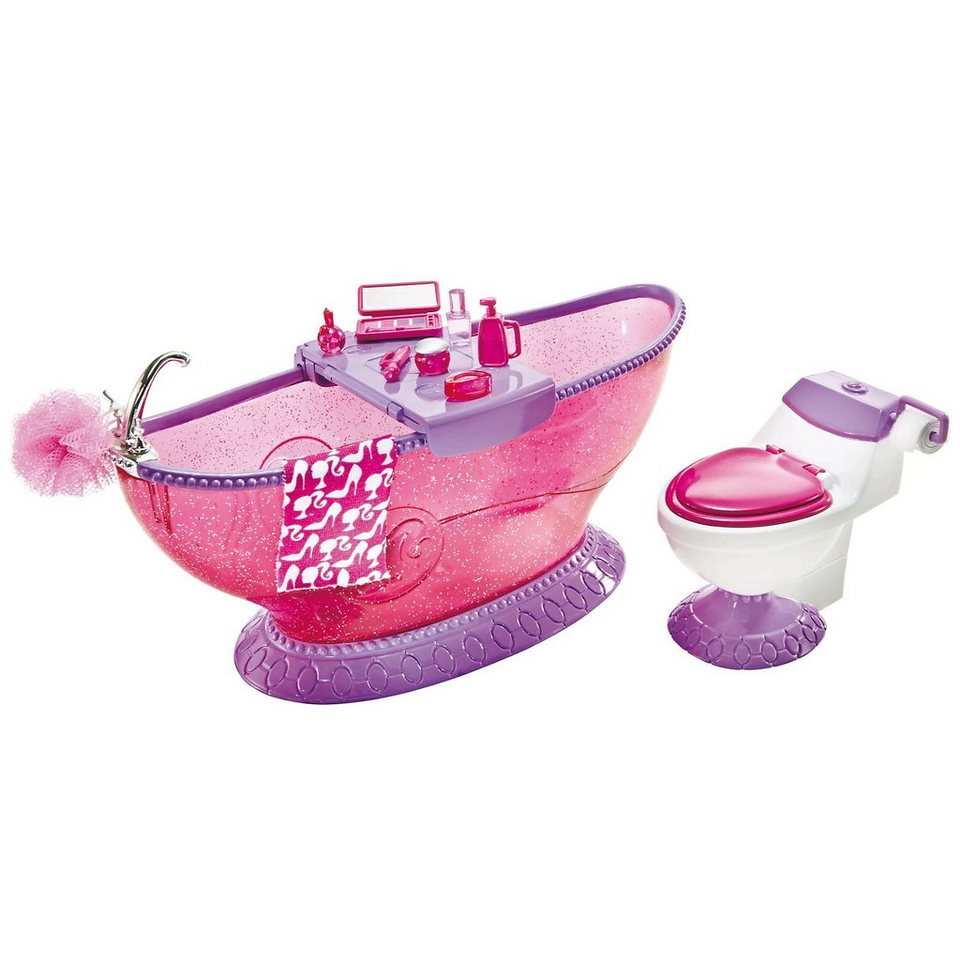 Superb Mattel Barbie Badezimmer