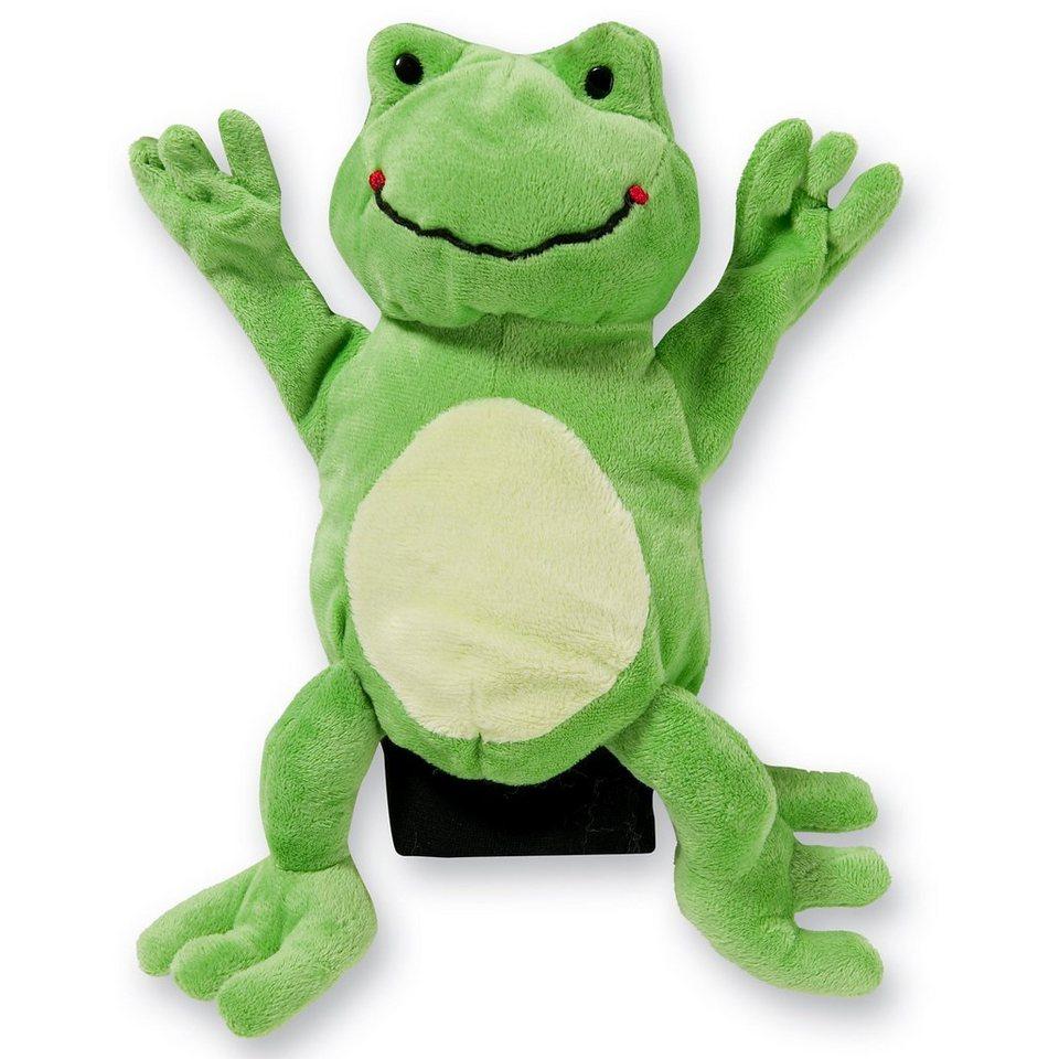 beleduc Handpuppe Frosch, 22 cm