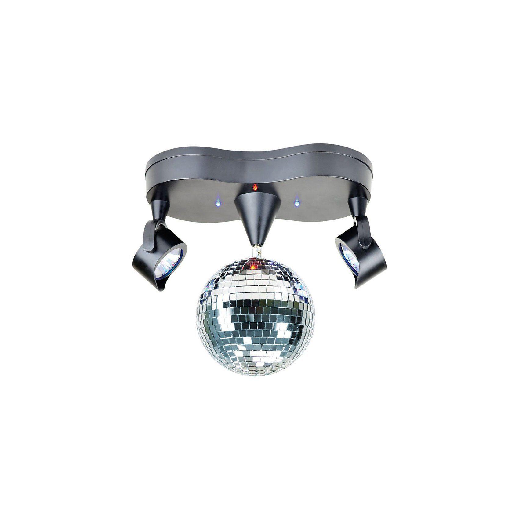 Spiegelkugel mit 2 LED Strahlern