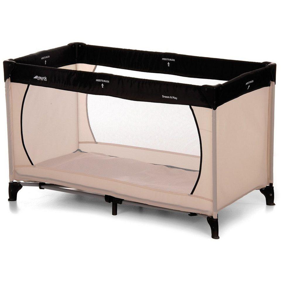 hauck reisebett dream n play charcoal sand kaufen otto. Black Bedroom Furniture Sets. Home Design Ideas