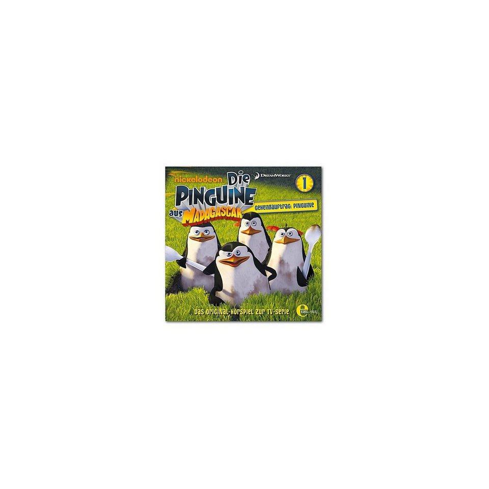 Edel Germany GmbH CD Die Pinguine aus Madagascar 01 Geheimauftrag: Pinguine