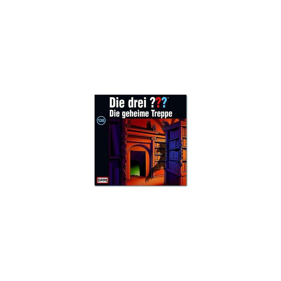 SONY BMG MUSIC CD Die Drei ??? 138 - Die geheime Treppe