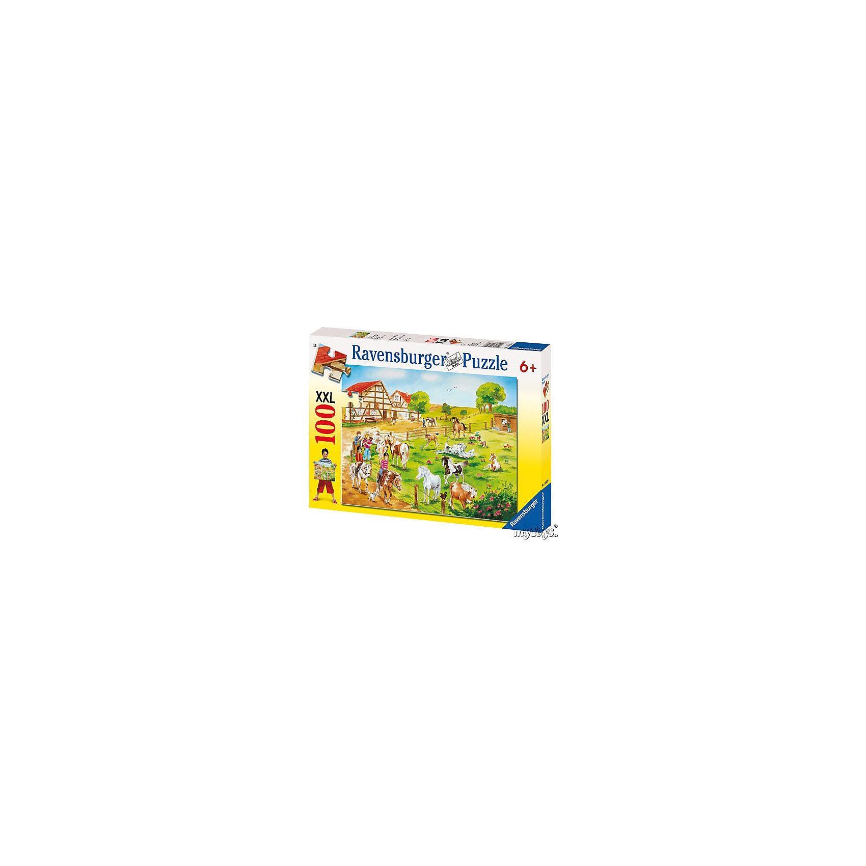 Ravensburger Puzzle XXL 100 Teile Ponyhof