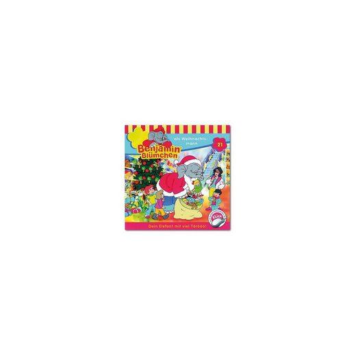 Kiddinx CD Benjamin Blümchen 21 - als Weihnachtsmann