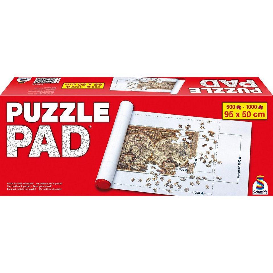 Schmidt Spiele Puzzle Pad für Puzzles bis 1.000 Teile