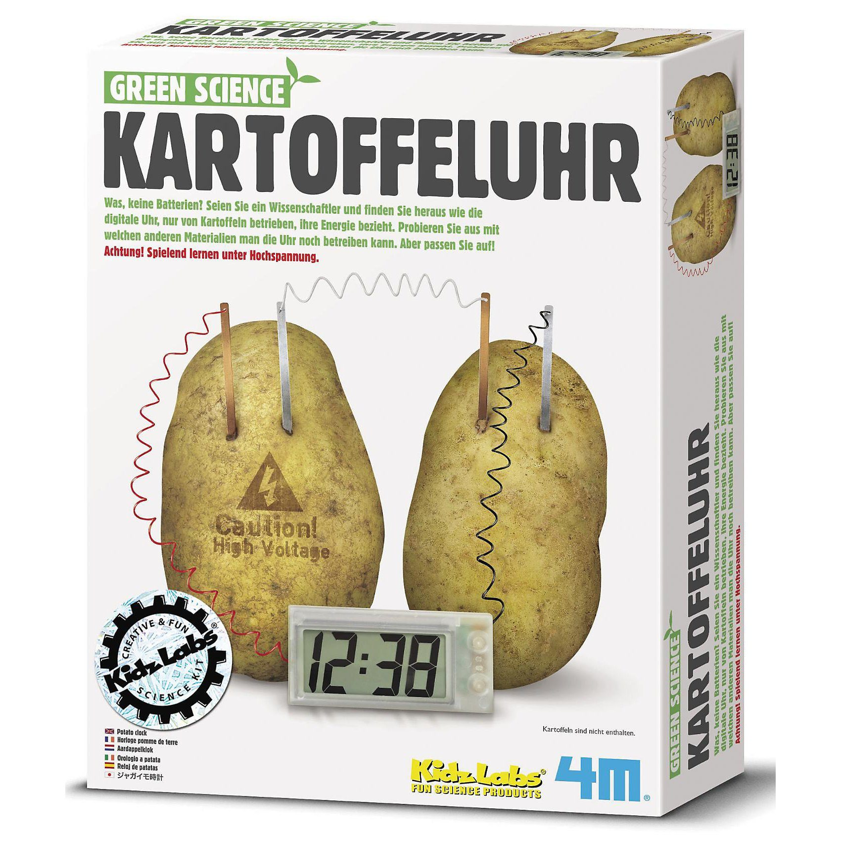 4M Green Science Bausatz Kartoffeluhr