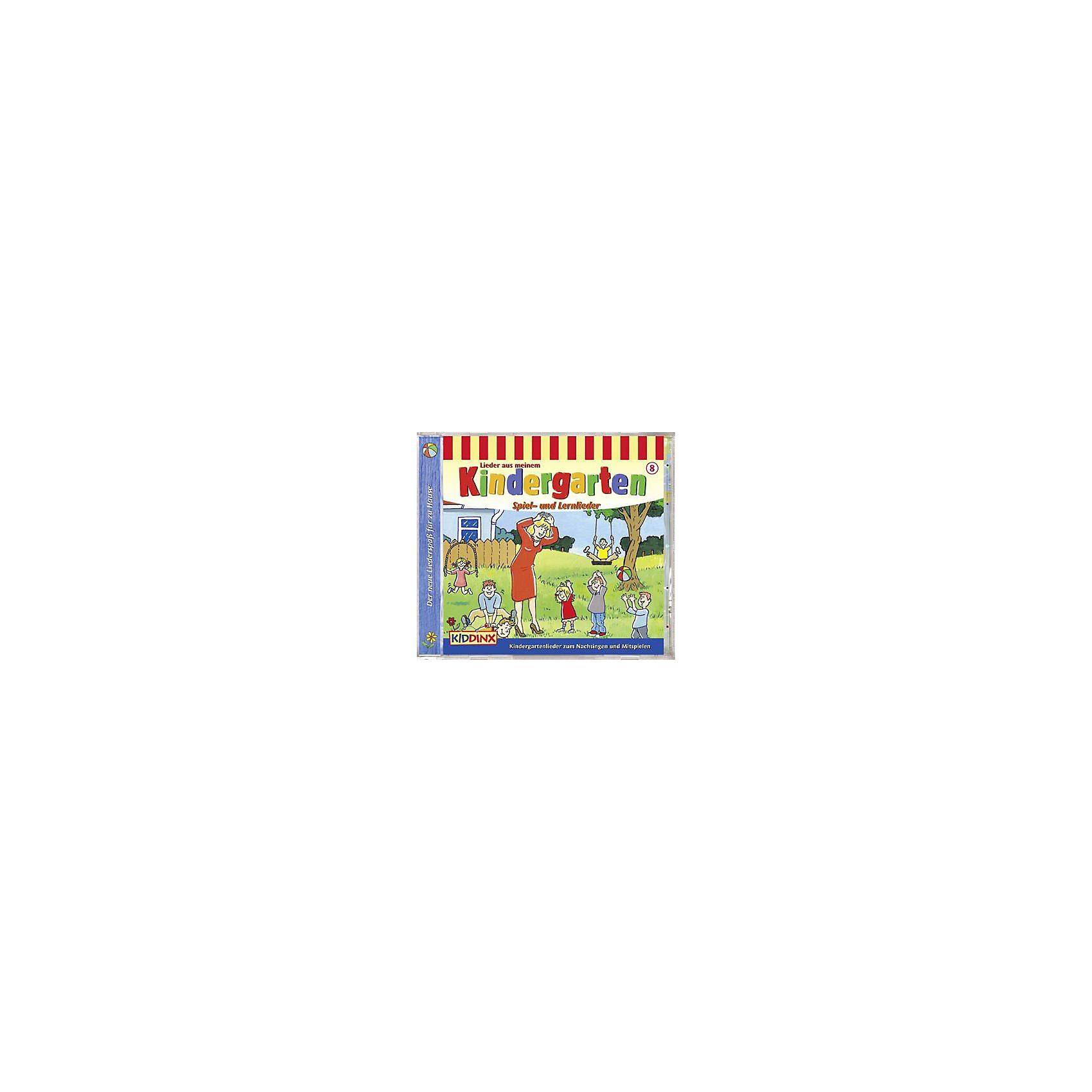 Kiddinx CD Lieder aus meinem Kindergarten Spiel-und Lernlied.