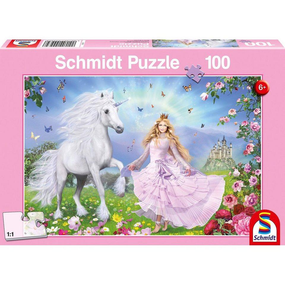 Schmidt Spiele Prinzessin der Einhörner, 100 Teile
