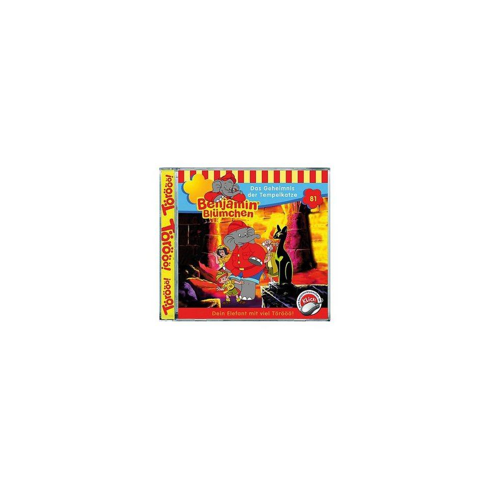 Kiddinx CD Benjamin Blümchen 81 - Das Geheimnis der Tempelkatze
