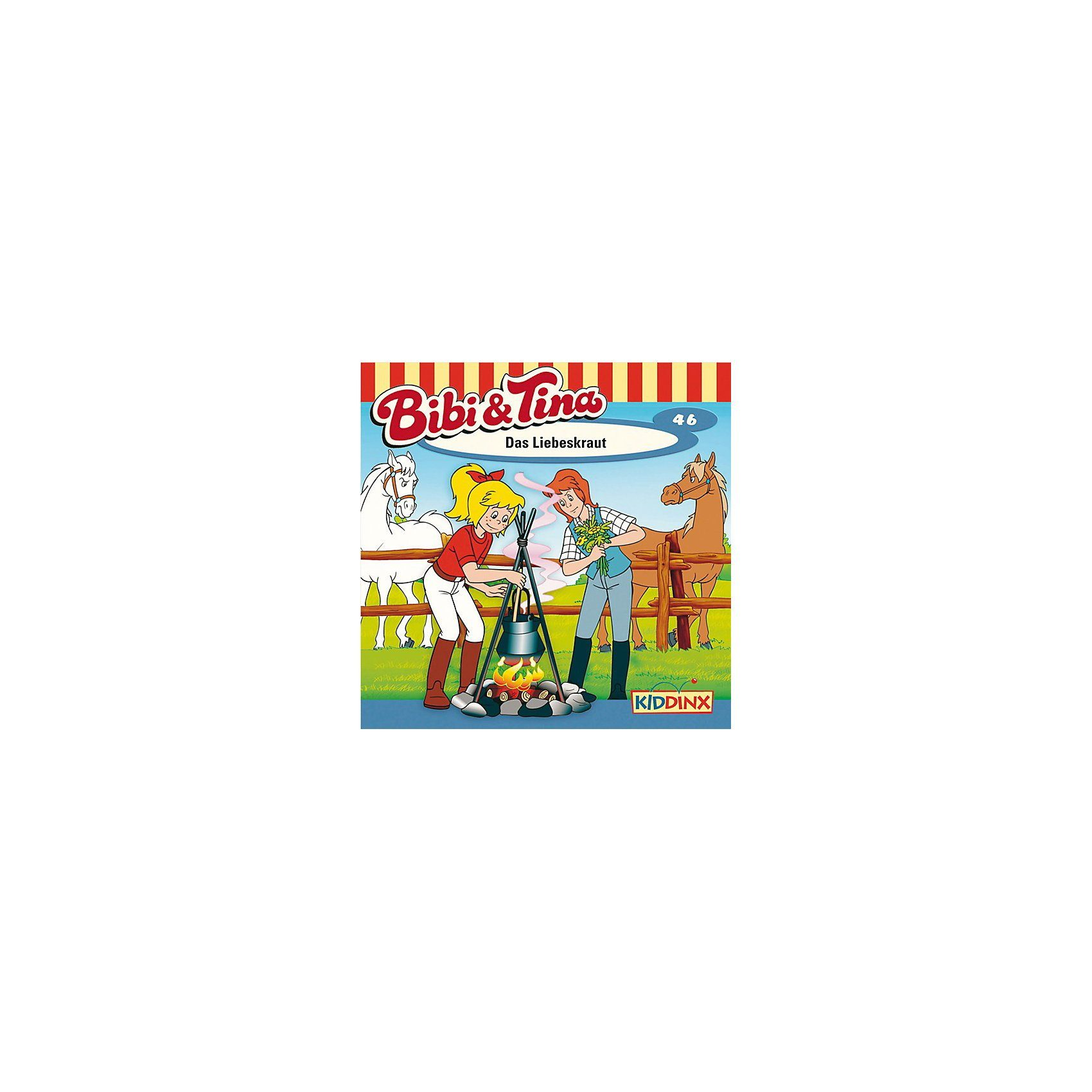 Kiddinx CD Bibi & Tina 46 - Das Liebeskraut