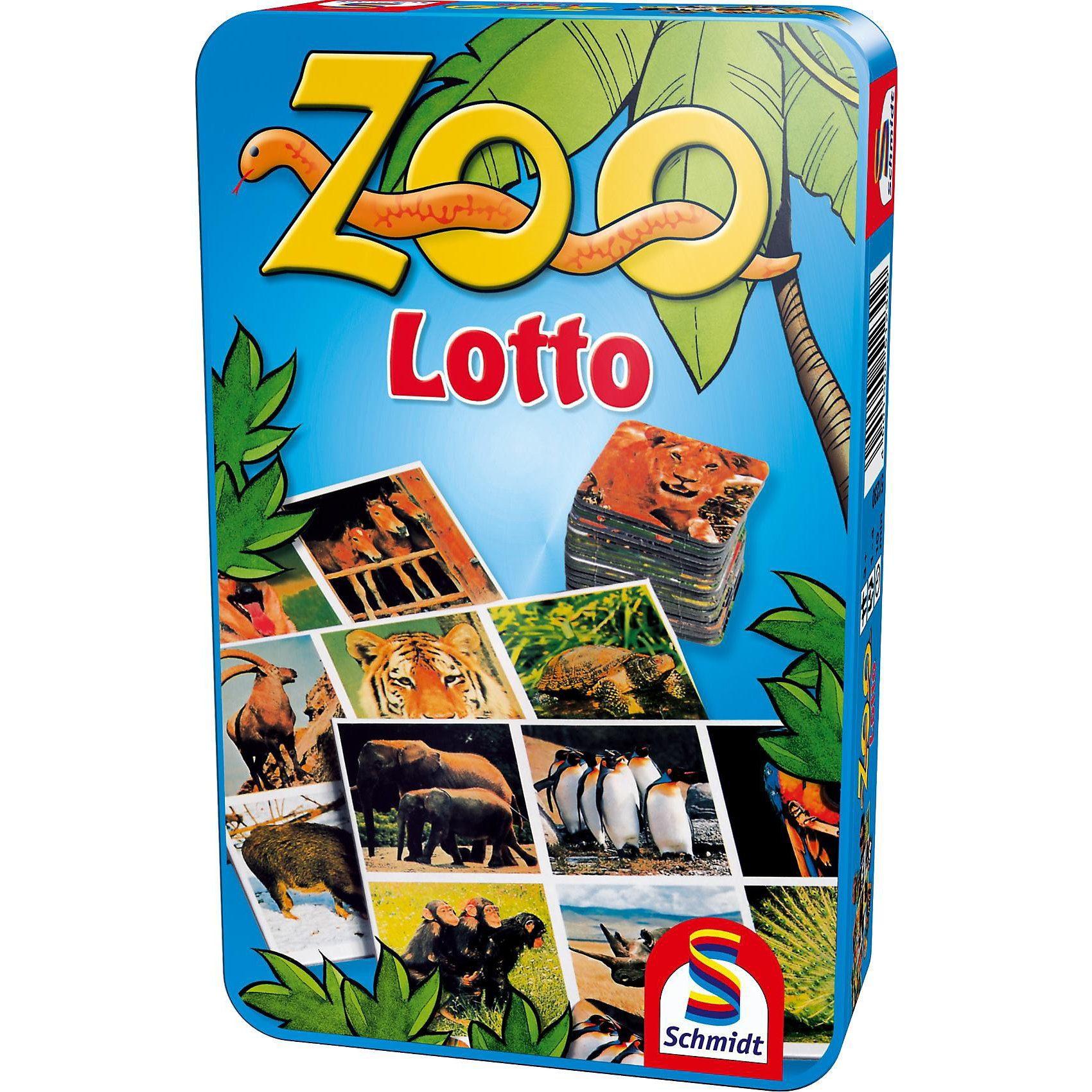 Schmidt Spiele Mitbringspiel Zoo Lotto
