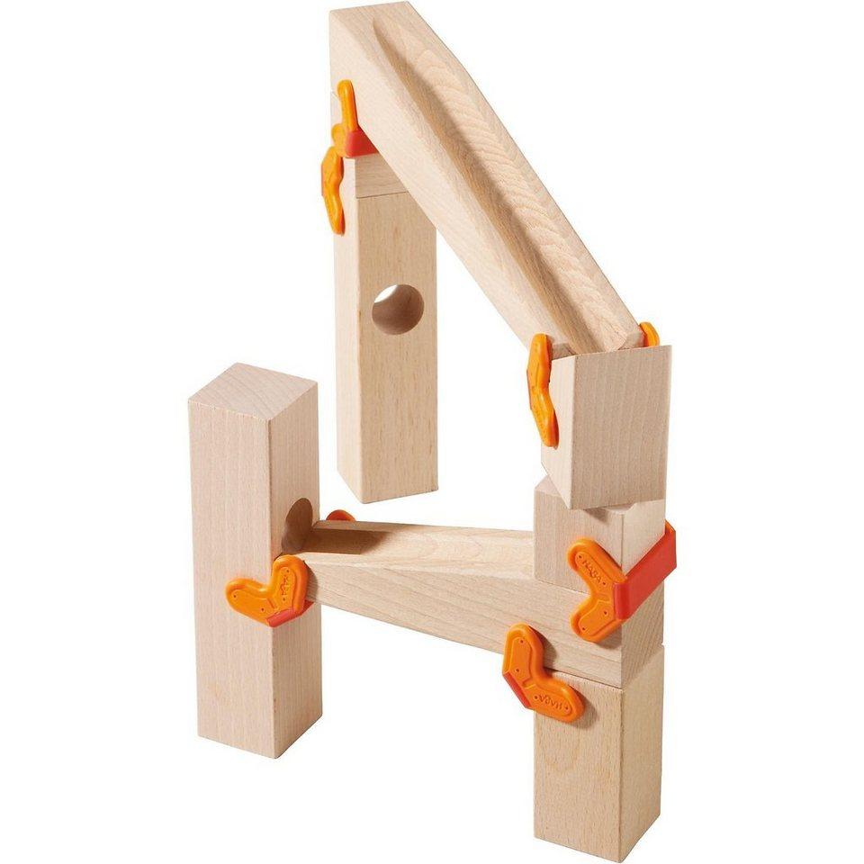 Haba 3650 Zusatzpackung Baustein-Klemmen und Rampen
