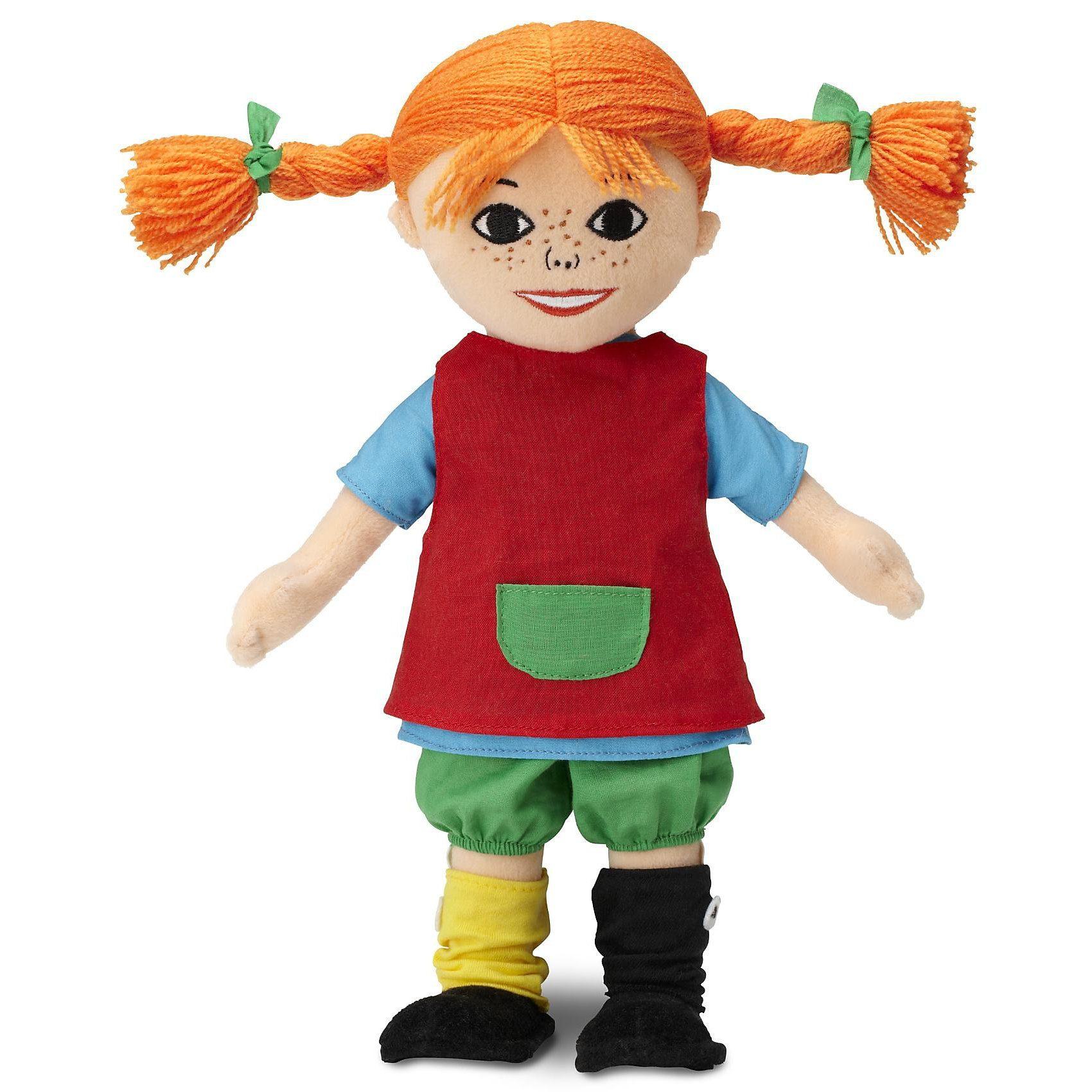 Glow2B Puppe Pippi Langstrumpf, 39 cm
