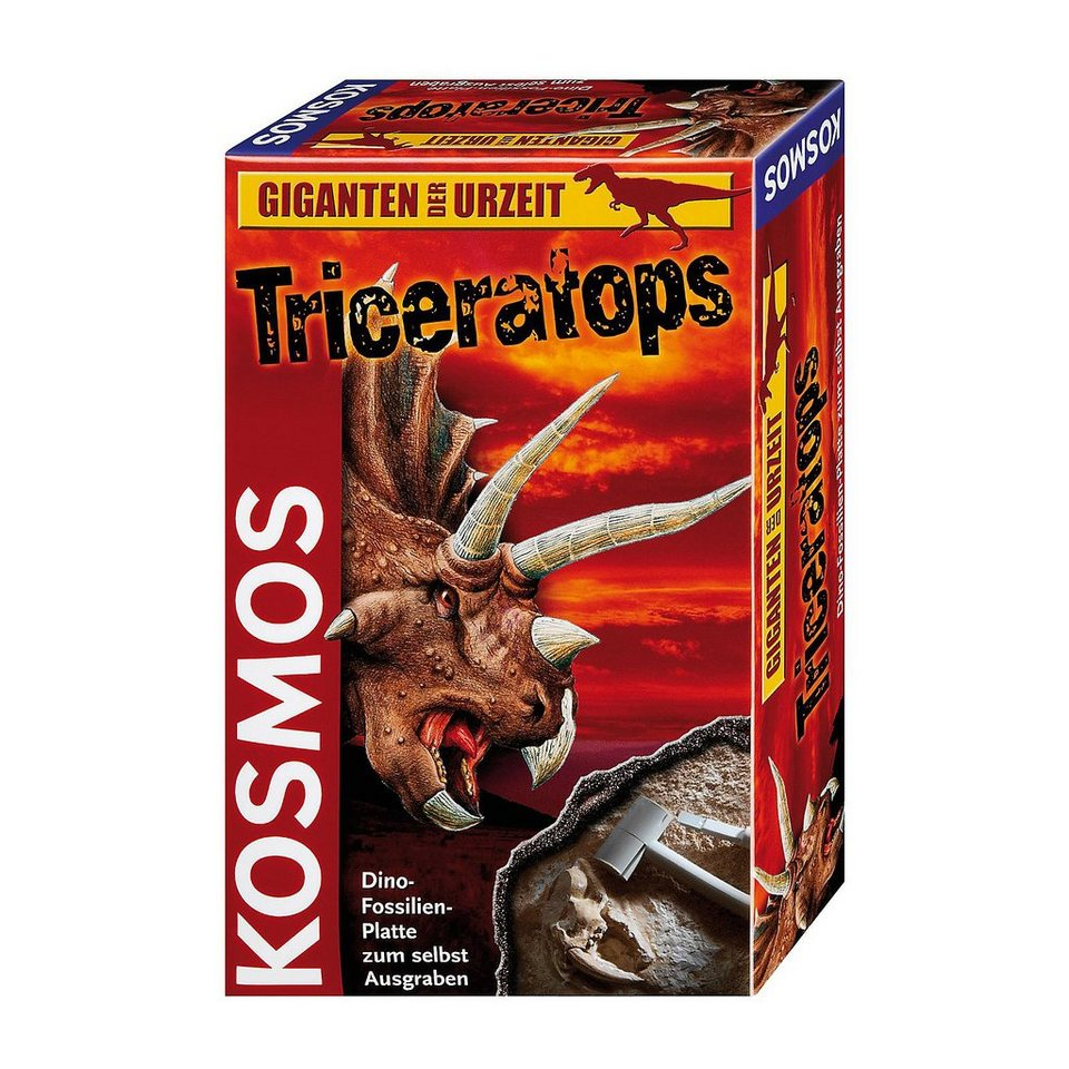 Kosmos Ausgrabungsset Triceratops