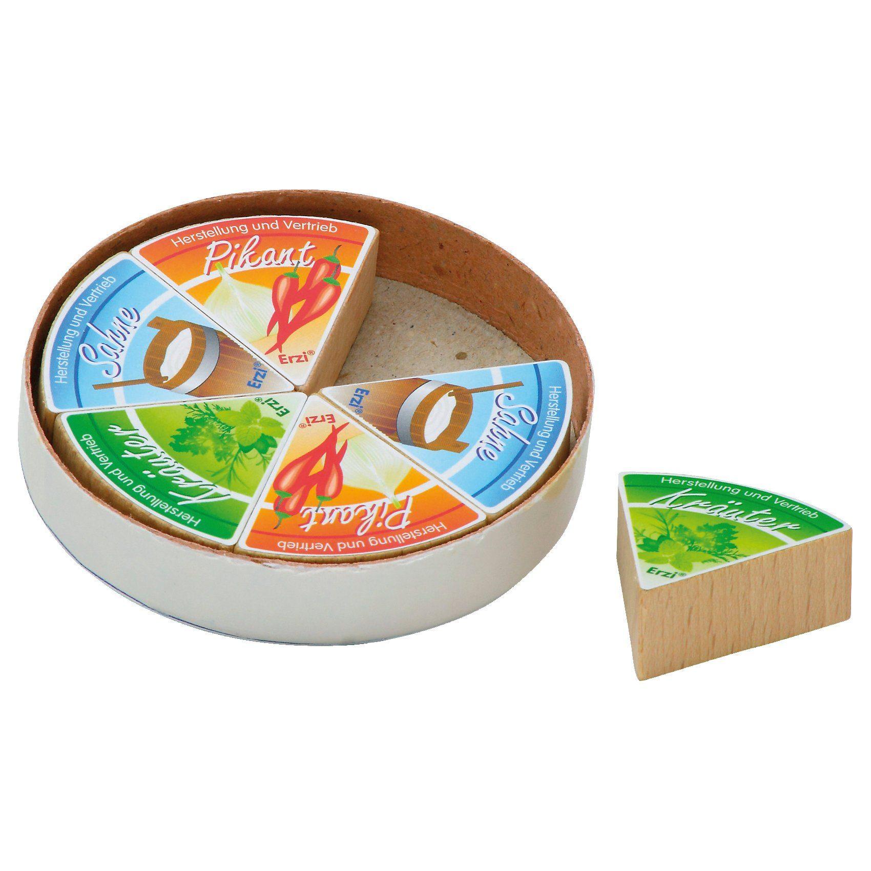ERZI Spiellebensmittel 6 Käseecken in Schachtel