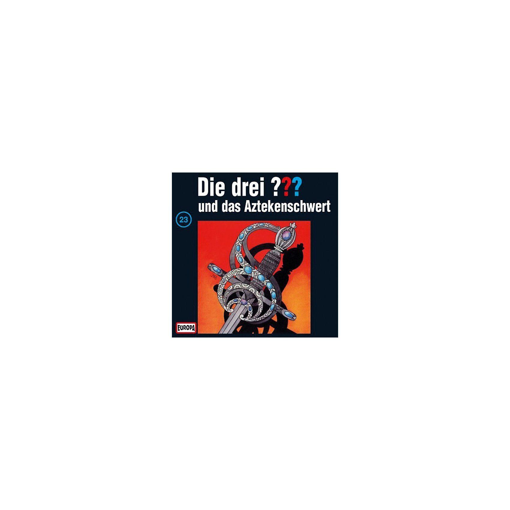 Sony CD Die Drei ??? 023/und das Aztekenschwert