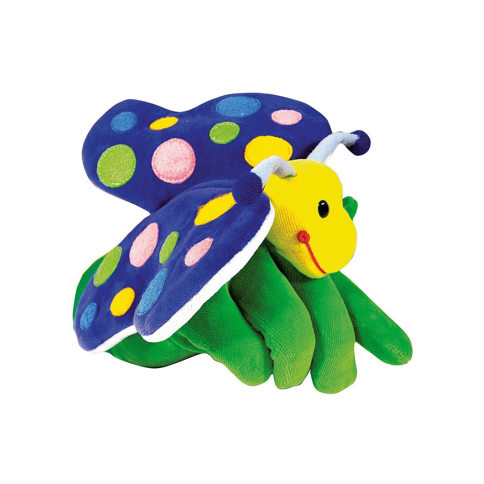 beleduc Handpuppe Schmetterling, 22 cm