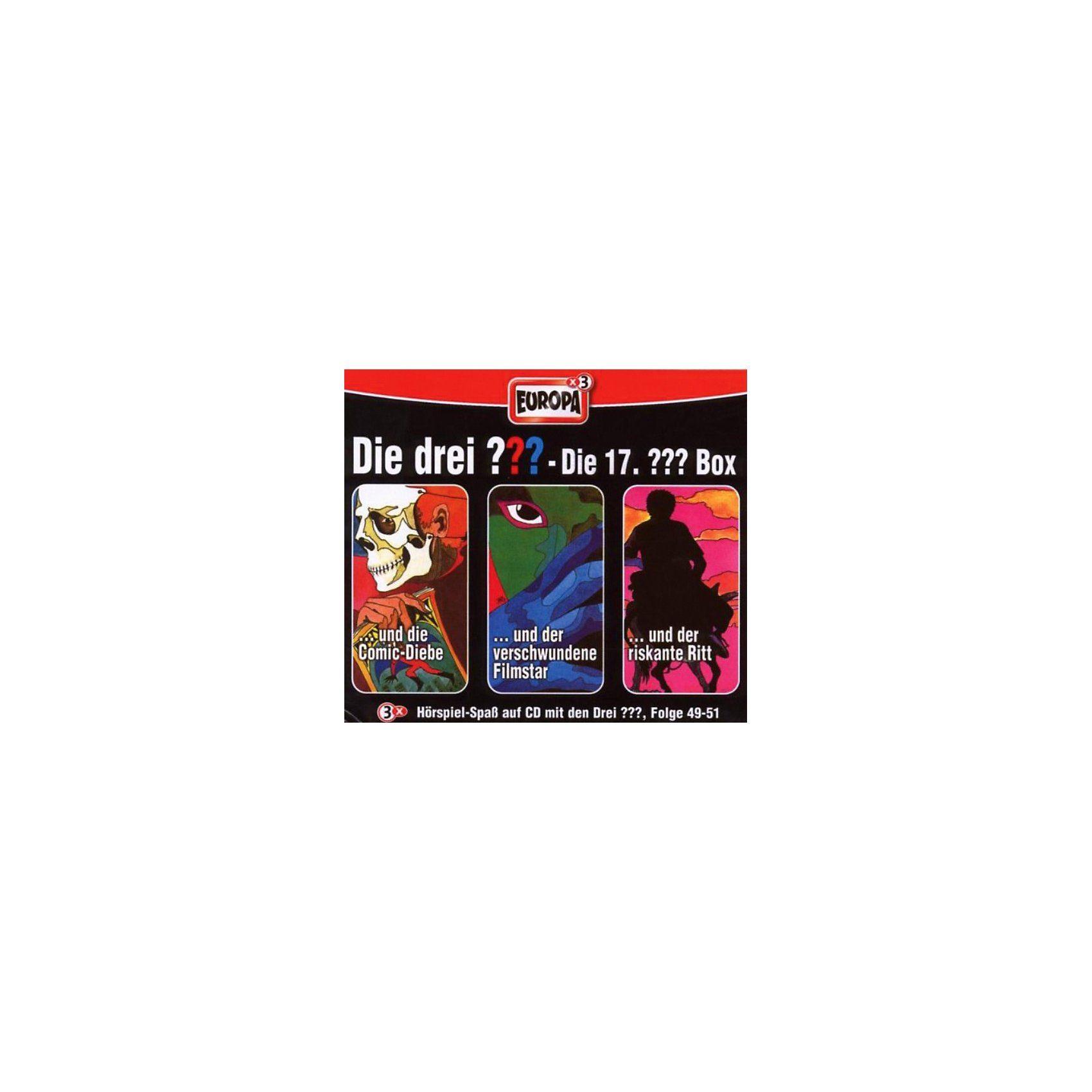 Sony CD Die Drei ??? 17 - 3er Box Folgen 49 - 51