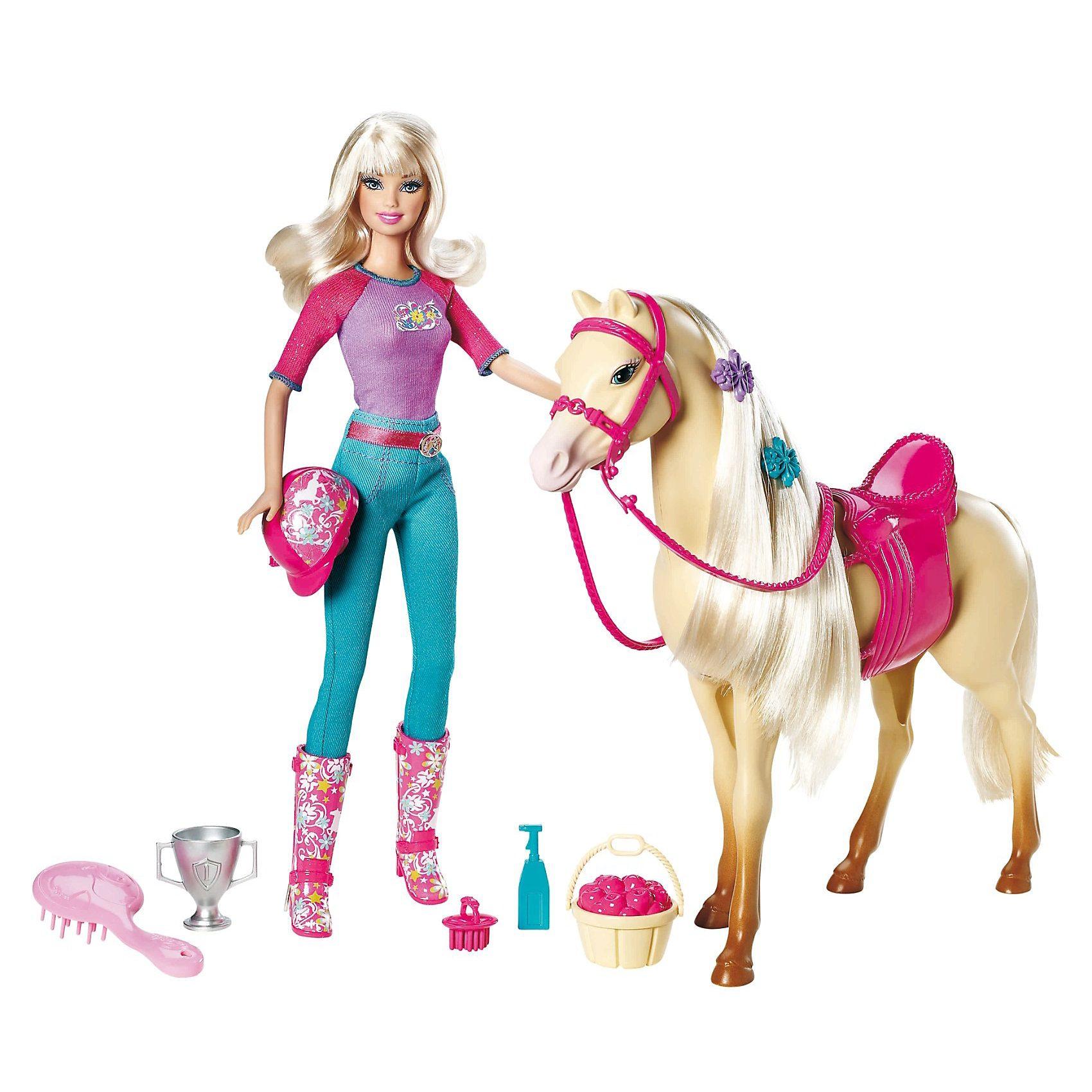 Mattel Barbie & Pferd, Turnierset