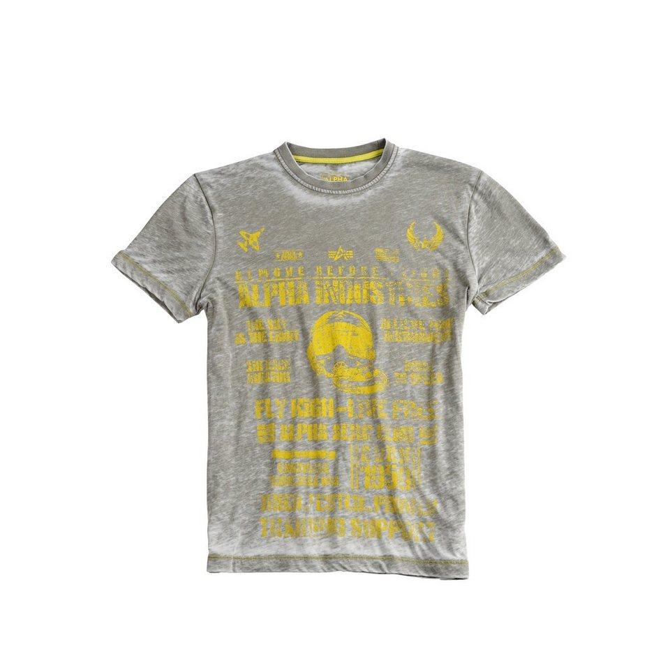 ALPHA INDUSTRIES T-Shirt »Aero Club T« in olive